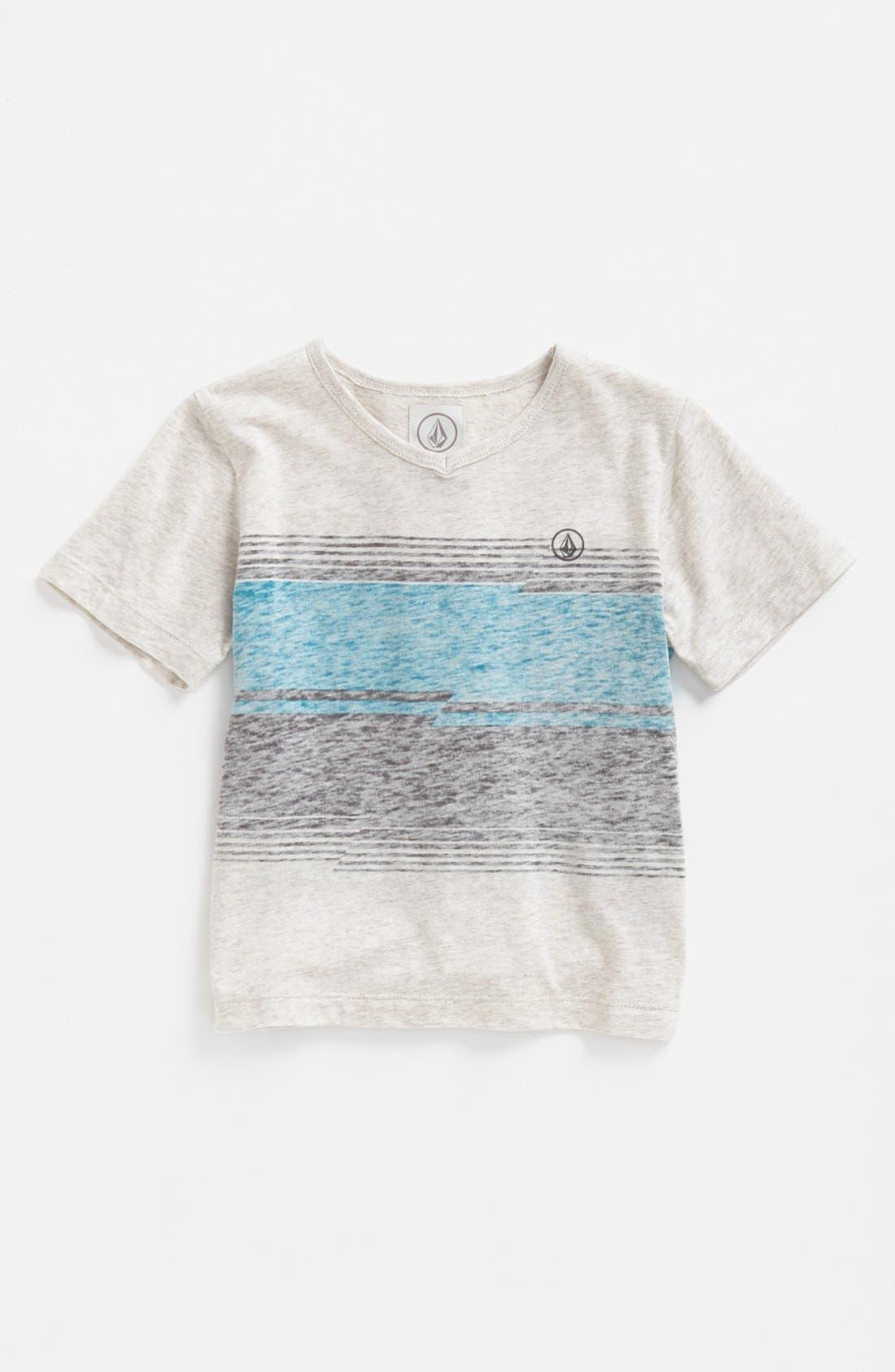 Main Image - Volcom 'Inferno' V-Neck T-Shirt (Toddler Boys)