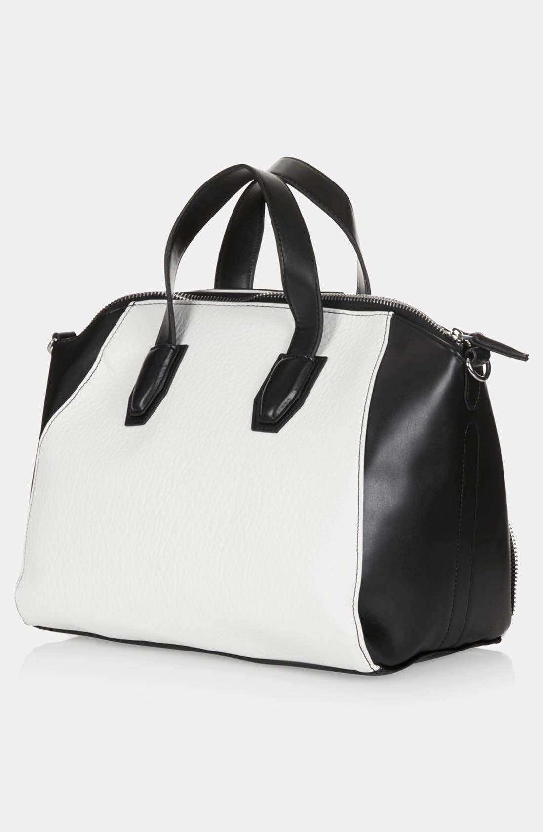Alternate Image 3  - Topshop 'Evian' Satchel, Medium