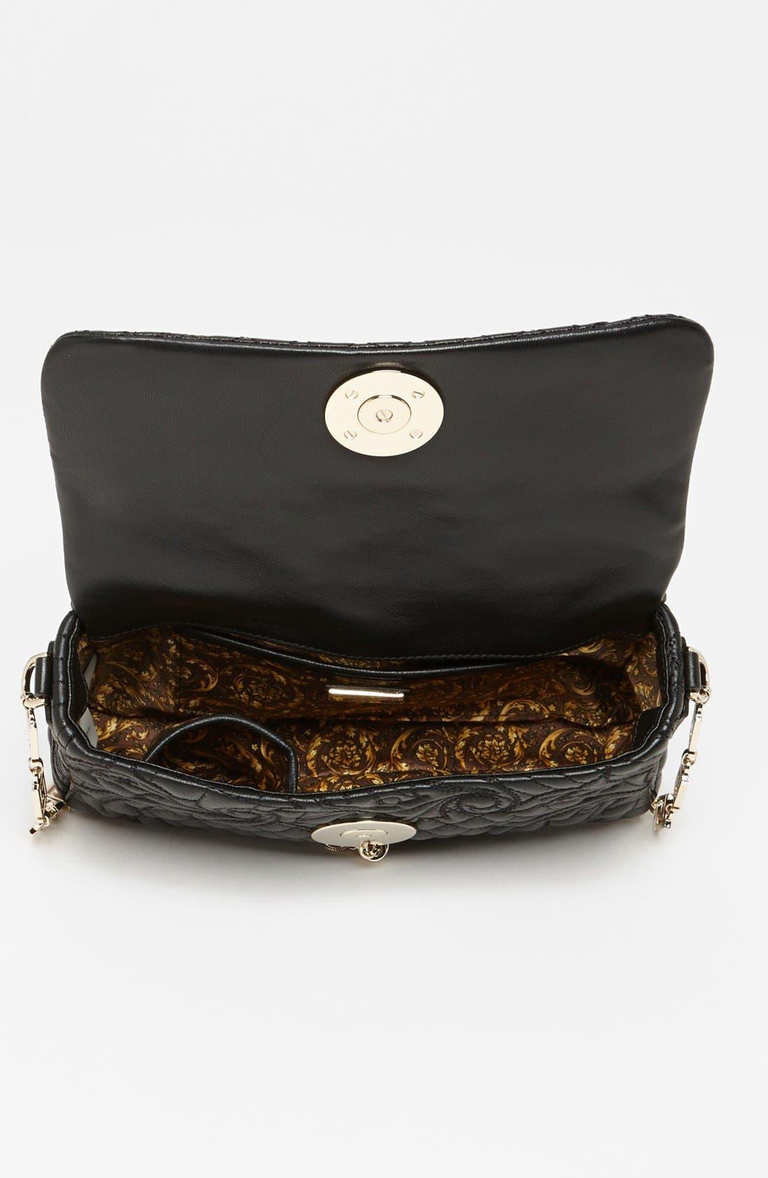 Alternate Image 3  - Versace 'Linea' Leather Shoulder Bag