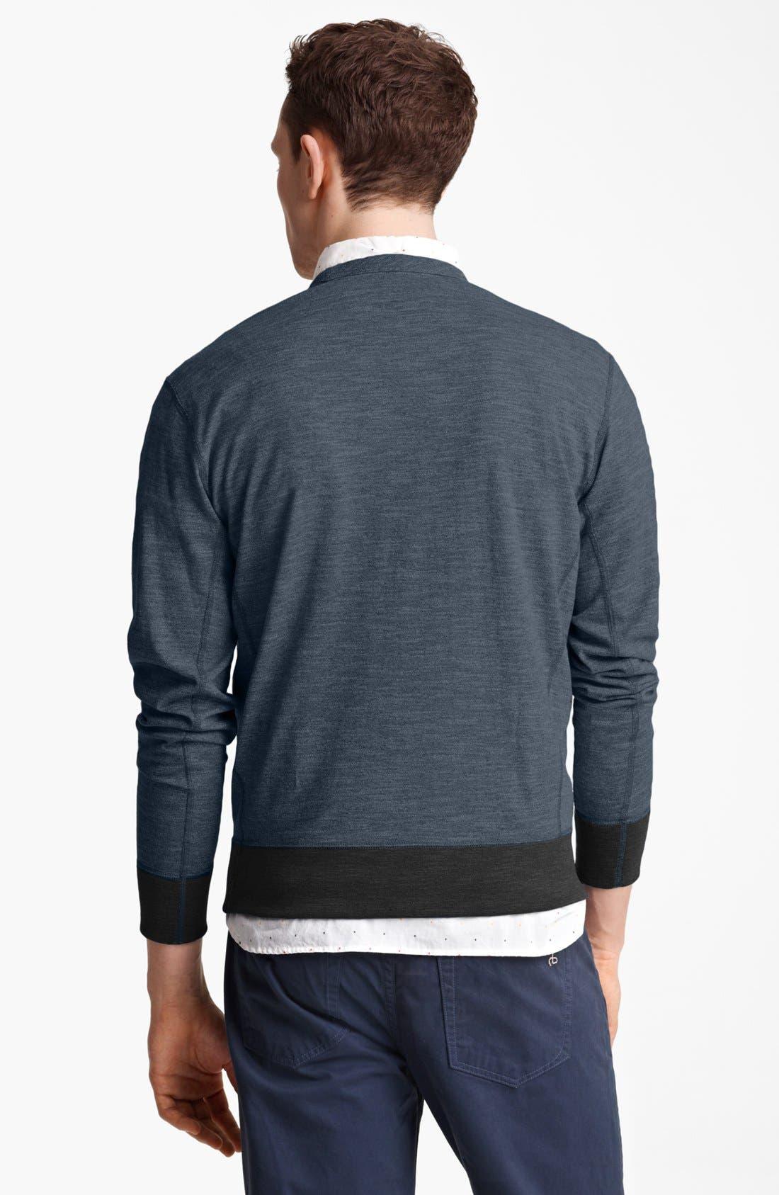 Alternate Image 2  - rag & bone 'Moulinex' Crewneck Sweatshirt