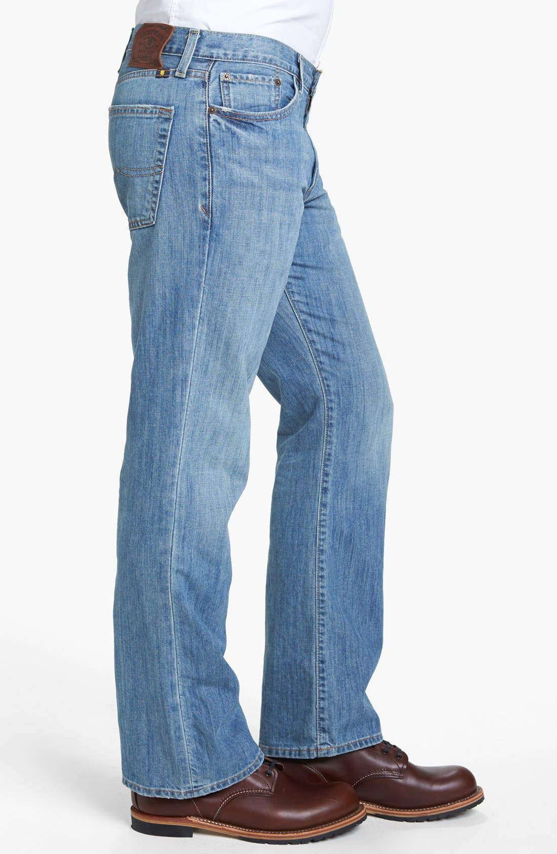 Alternate Image 3  - Lucky Brand '367 Vintage' Bootcut Jeans (Chambers)