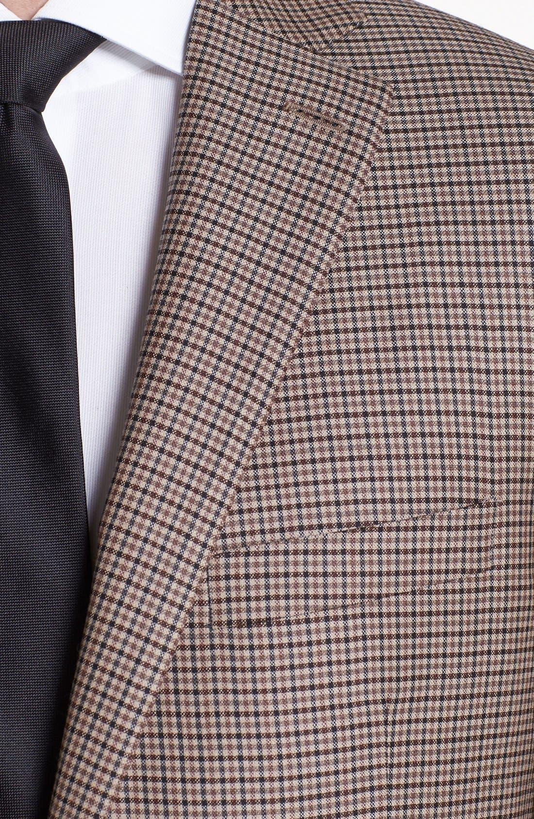 Alternate Image 2  - Peter Millar Check Wool Sportcoat