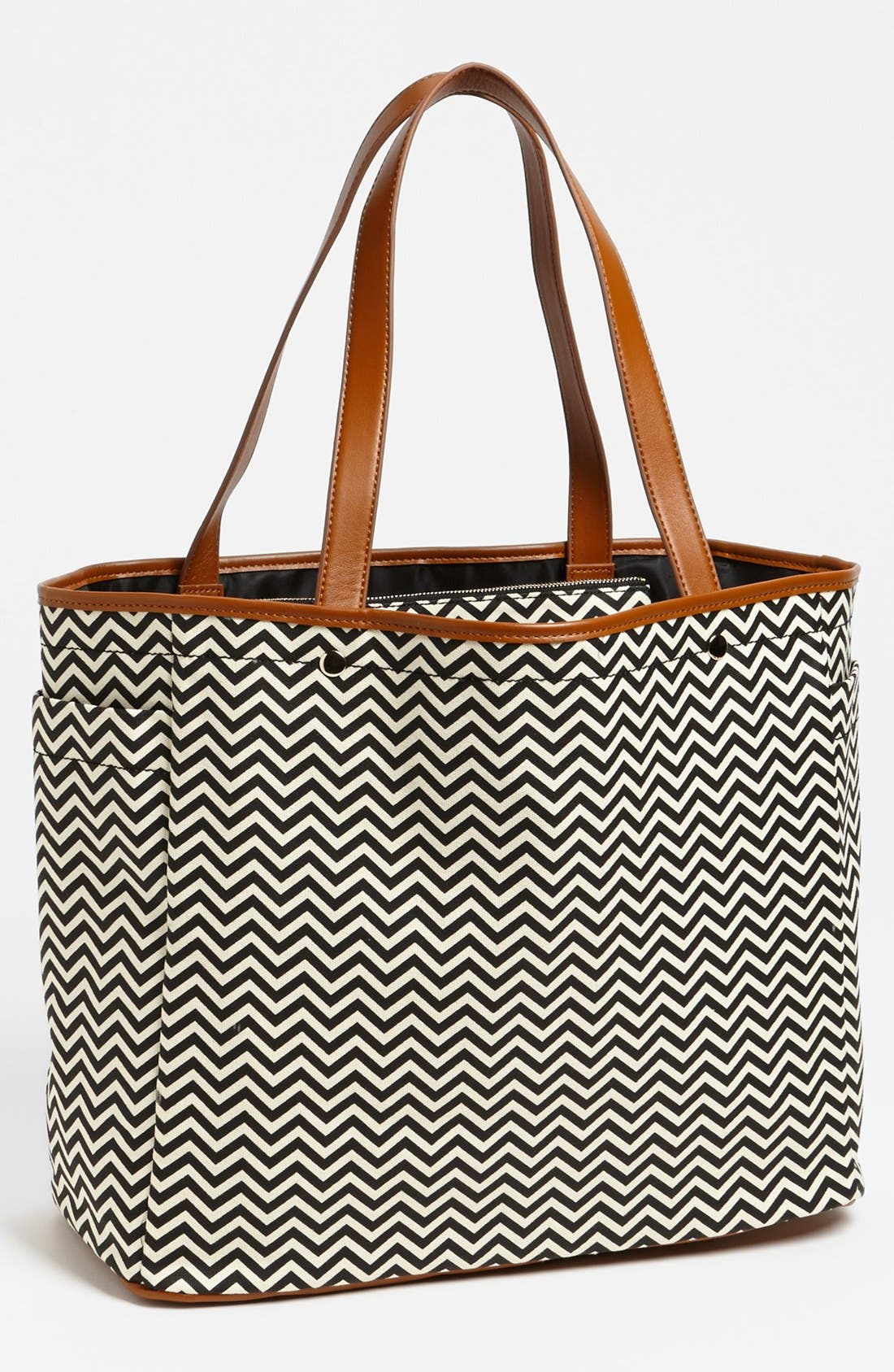 Alternate Image 1 Selected - Tarnish Graphic Print Canvas Tote