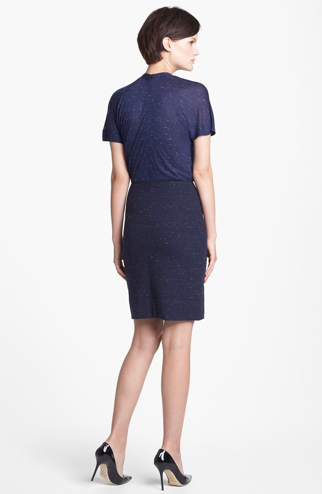 Alternate Image 2  - MARC BY MARC JACOBS 'Alicia' Mélange Ponte Sheath Dress
