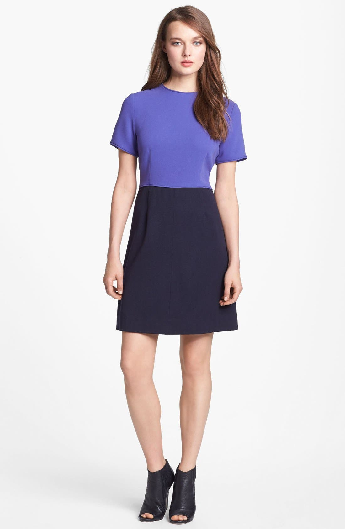 Alternate Image 1 Selected - MARC BY MARC JACOBS Wool Blend A-Line Dress