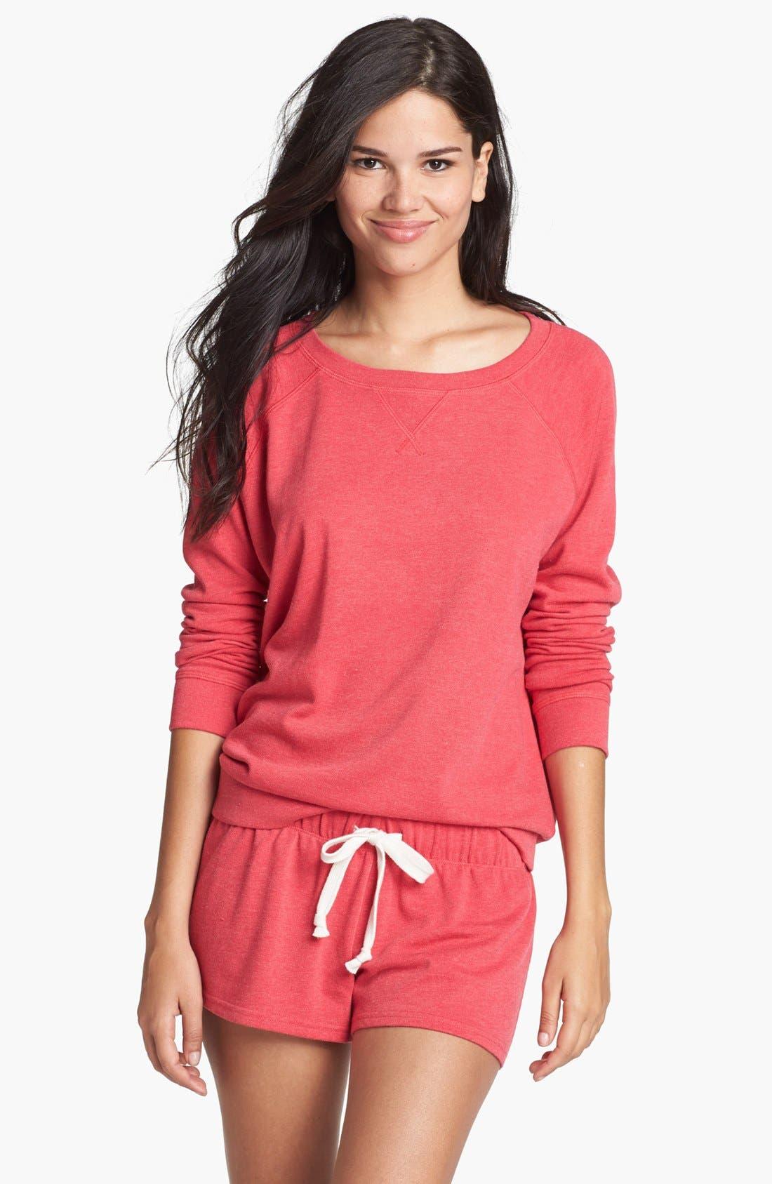 Main Image - Make + Model Sweatshirt & Shorts