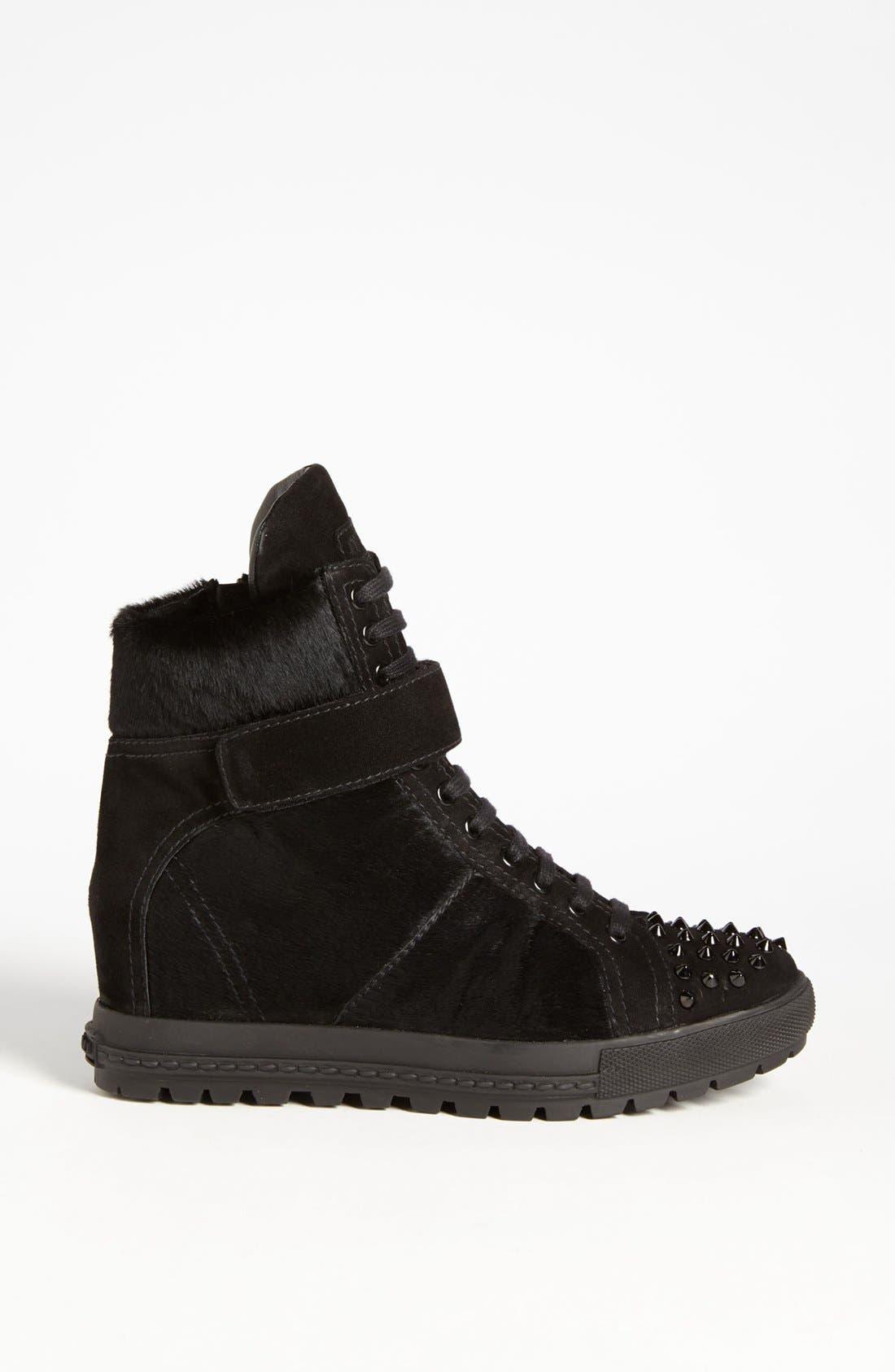 Alternate Image 4  - Miu Miu Wedge Sneaker
