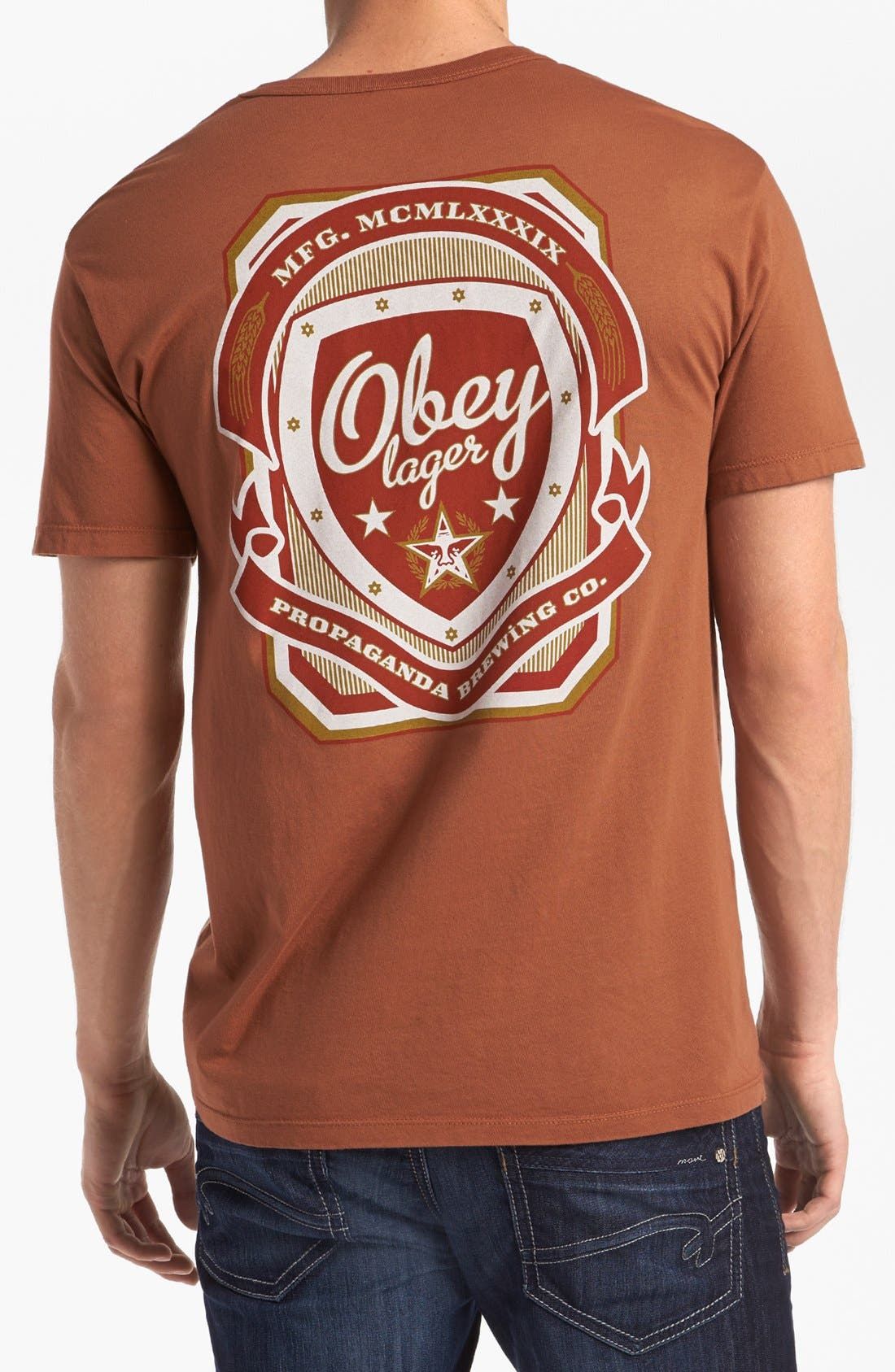 Alternate Image 2  - Obey 'Propaganda Brewing Co.' T-Shirt