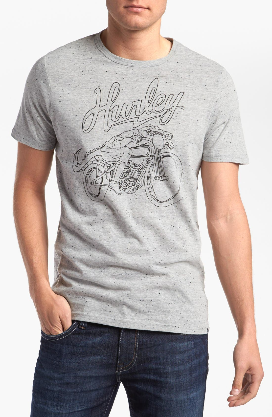 Alternate Image 1 Selected - Hurley 'Motogator' T-Shirt