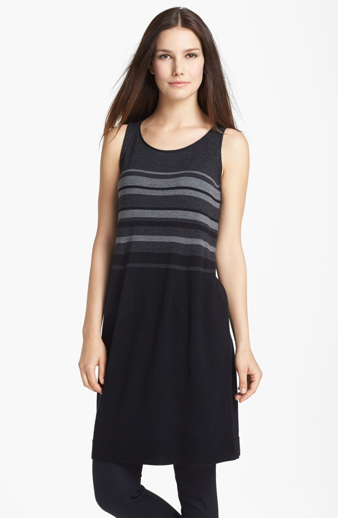 Alternate Image 1 Selected - Eileen Fisher Merino Jersey Dress