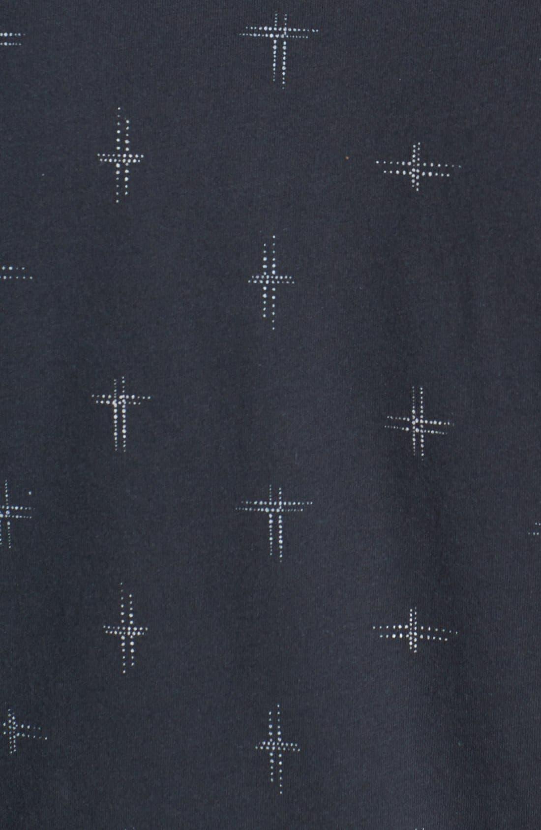 Alternate Image 3  - Vans 'Noughts' Print T-Shirt