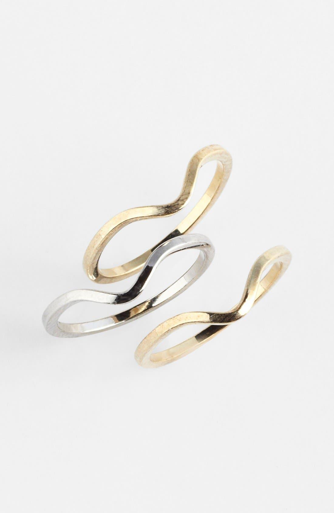 Main Image - Bonnie Jonas Midi Rings (Set of 3)