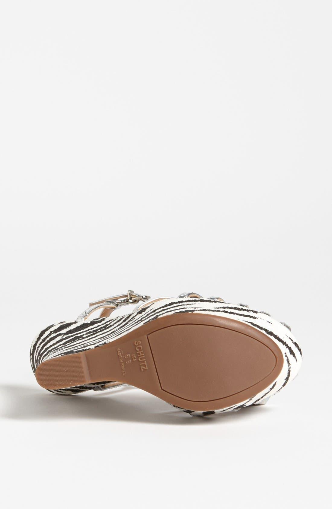 Alternate Image 4  - Schutz 'Gil' Wedge Sandal