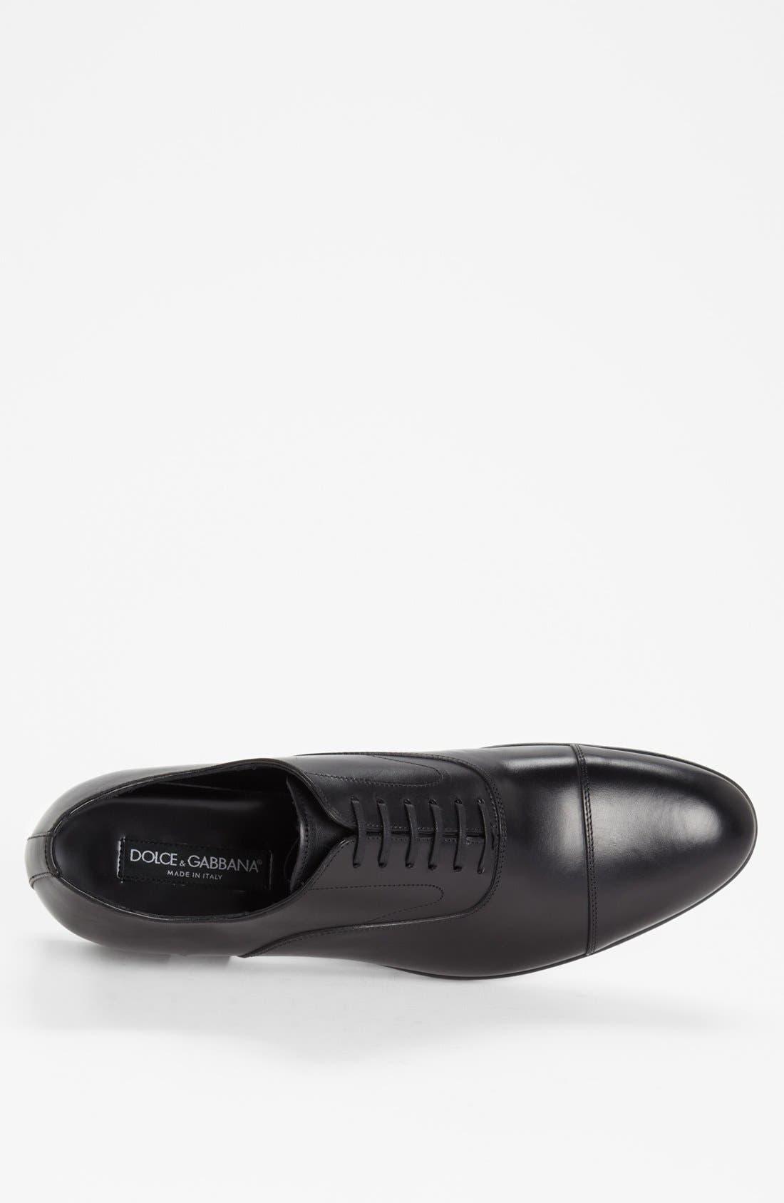 Alternate Image 3  - Dolce&Gabbana 'Napoli' Cap Toe Oxford