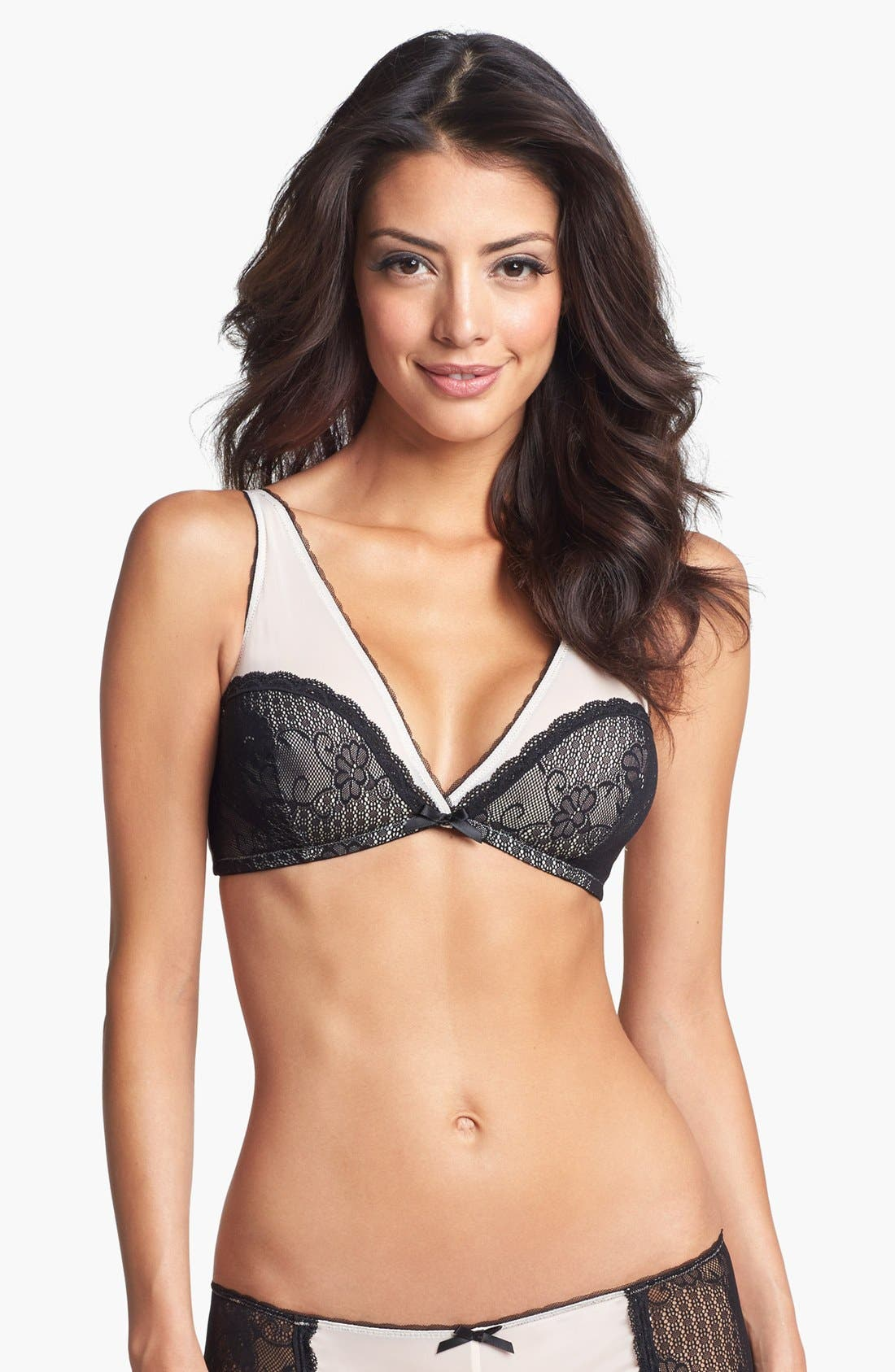 Alternate Image 1 Selected - Underella by Ella Moss 'Luxe Lace' Triangle Bra