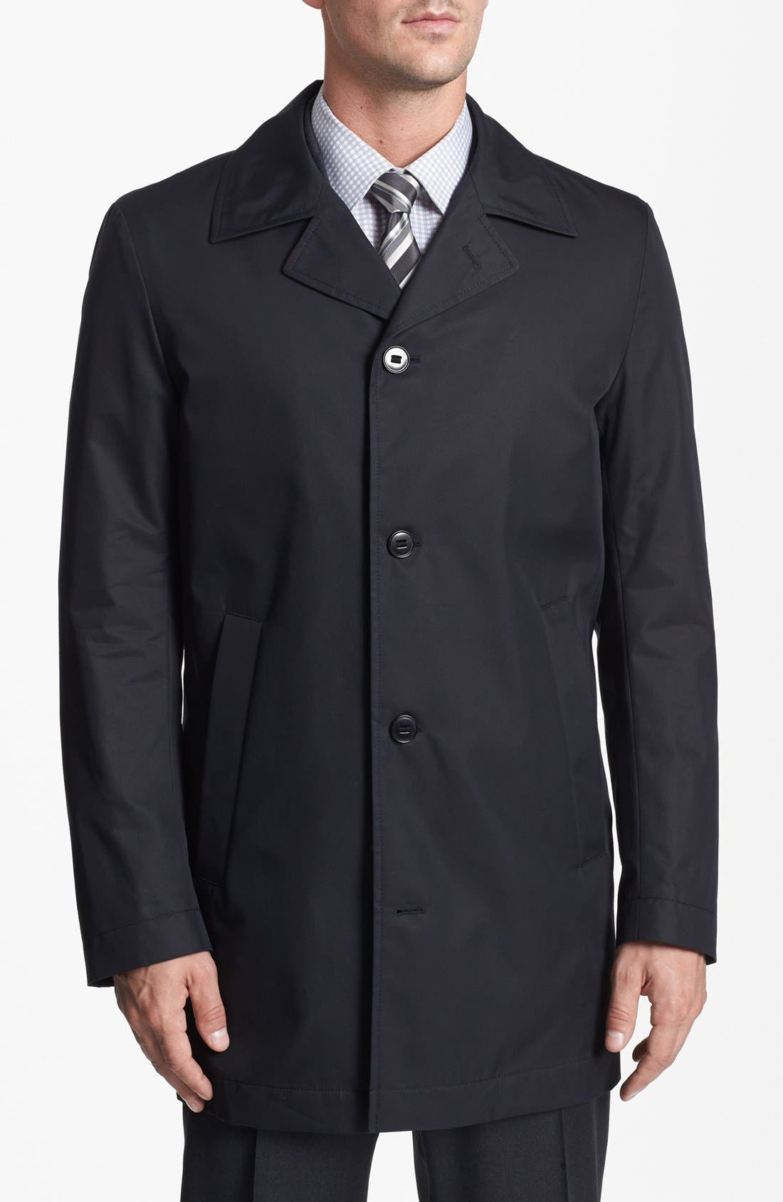 Alternate Image 4  - BOSS HUGO BOSS 'Dias' Raincoat
