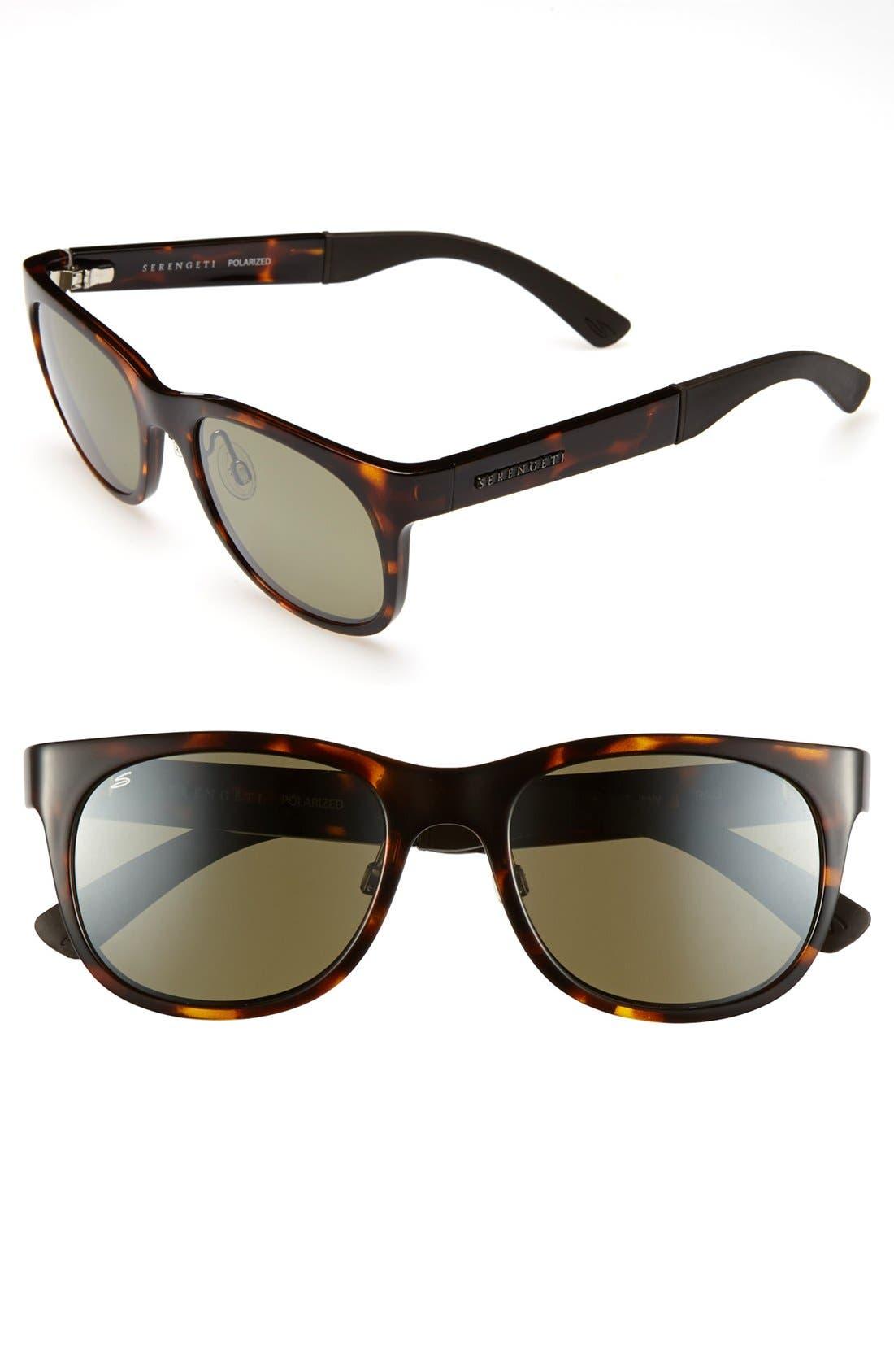 Alternate Image 1 Selected - Serengeti 'Milano' 57mm Polarized Sunglasses