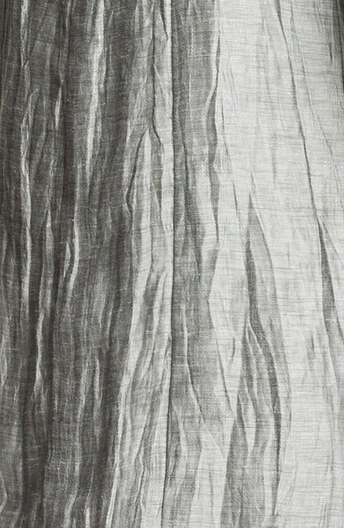 Alternate Image 3  - Eileen Fisher Crinkled Linen Jacket (Petite)
