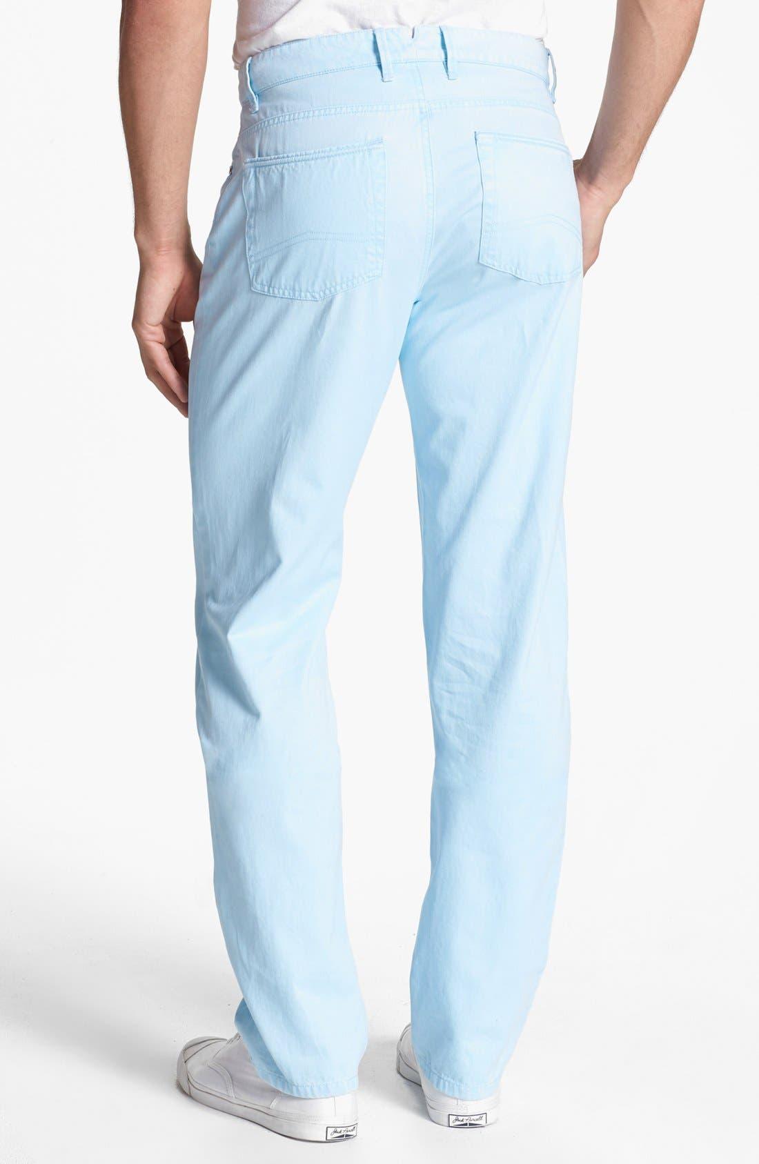 Alternate Image 2  - Peter Millar 'Roberson' Straight Leg Pants (Big)