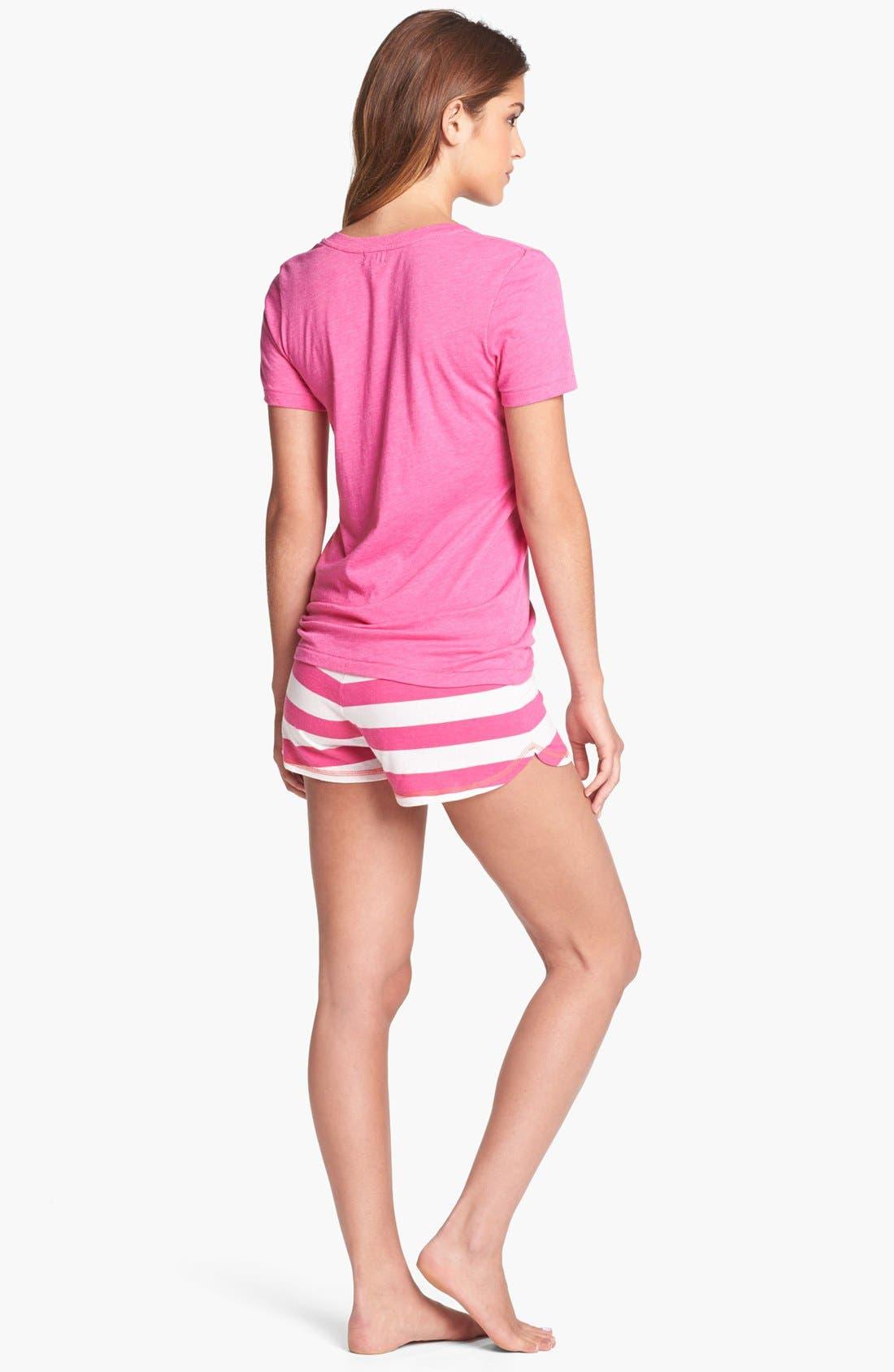 Alternate Image 4  - COZY ZOE Stripe Shorts