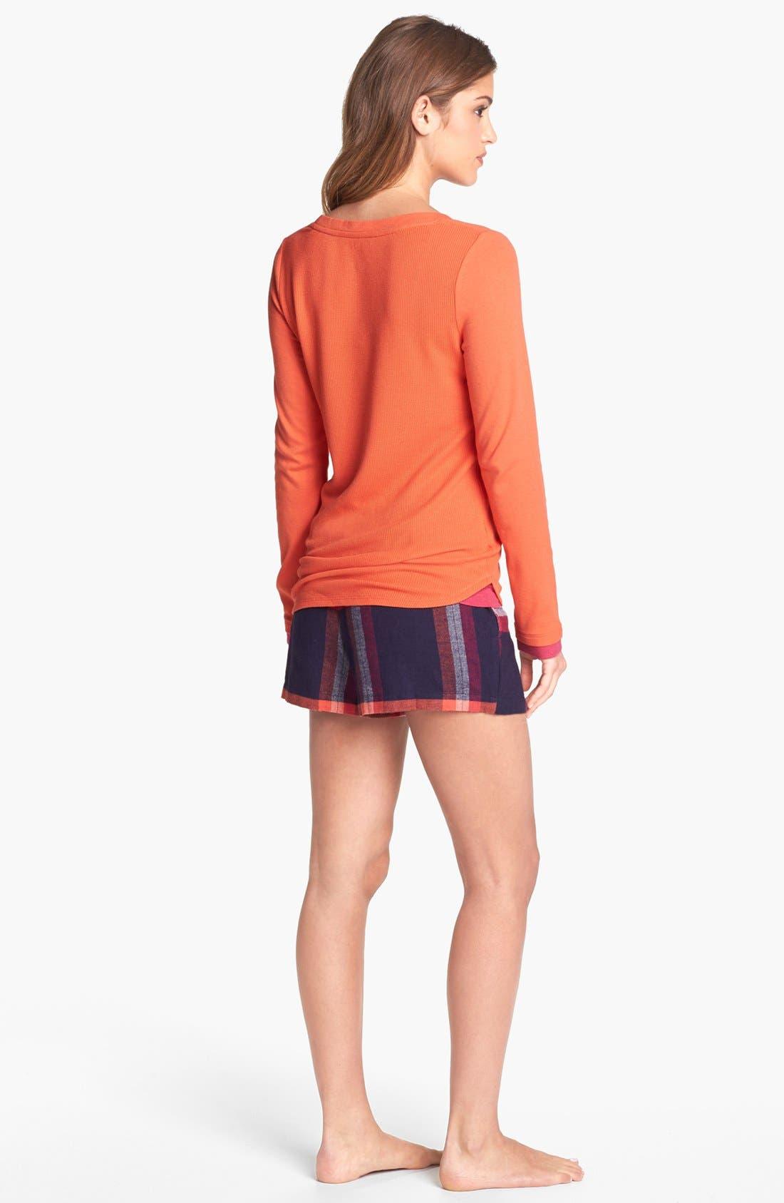 Alternate Image 4  - DKNY 'Mad for Plaid' Tee