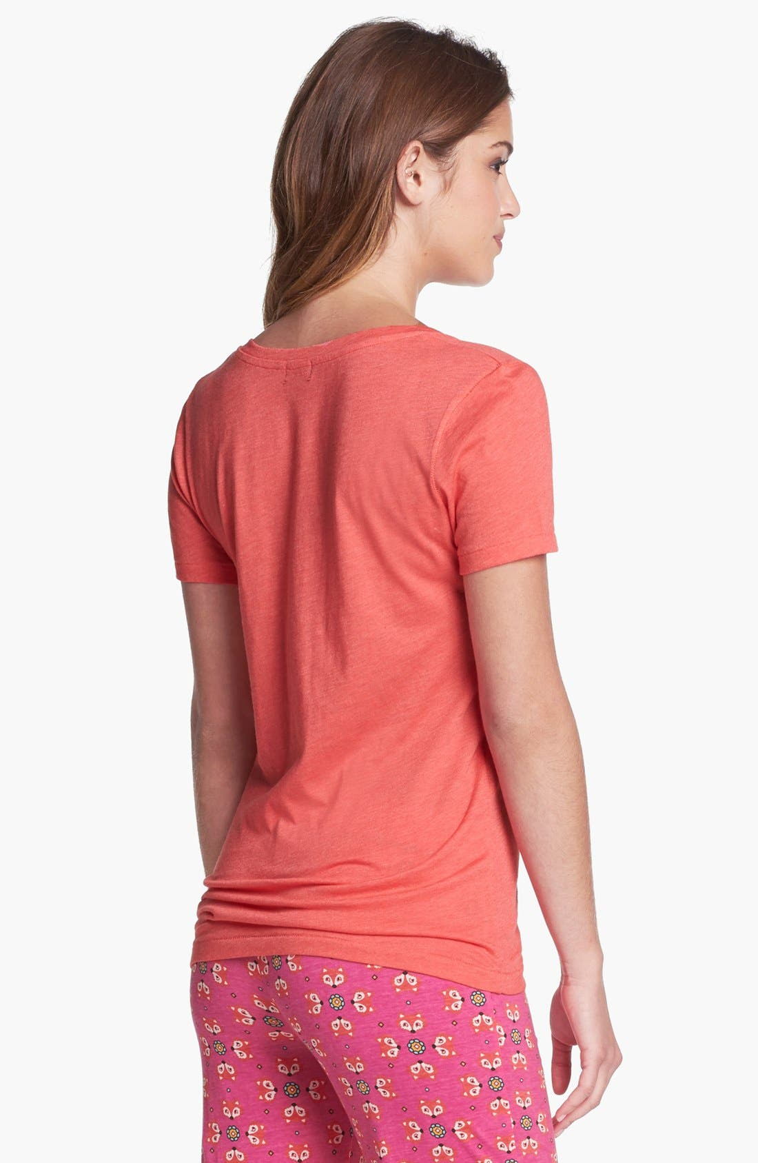 Alternate Image 2  - COZY ZOE Graphic V-Neck Tee