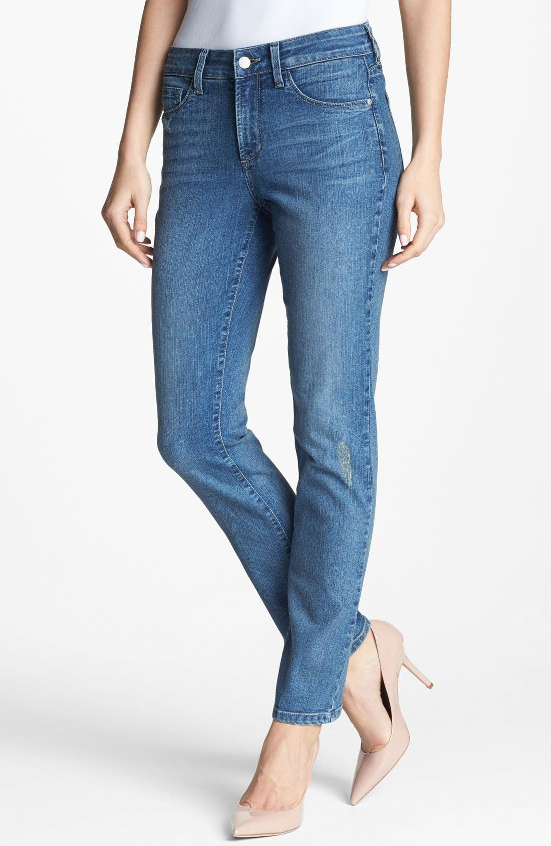 Alternate Image 1 Selected - NYDJ 'Sheri' Stretch Skinny Jeans