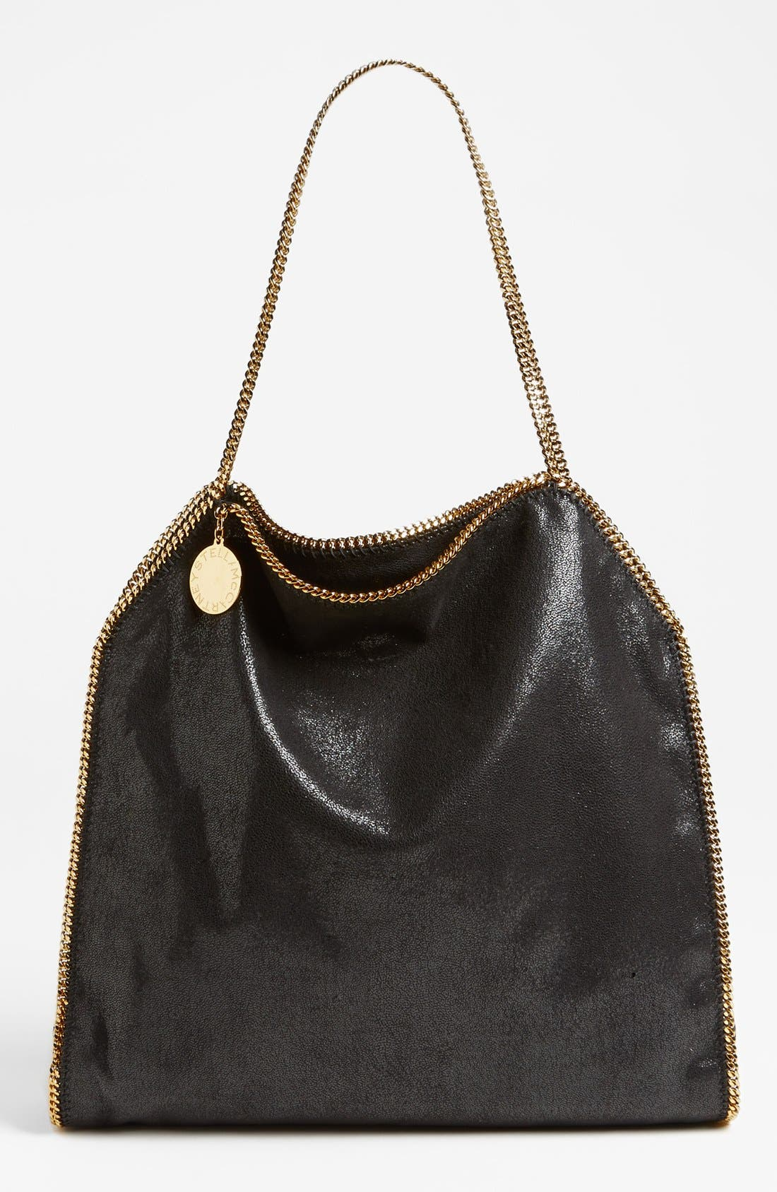 Main Image - Stella McCartney 'Falabella' Shaggy Deer Tote, Small