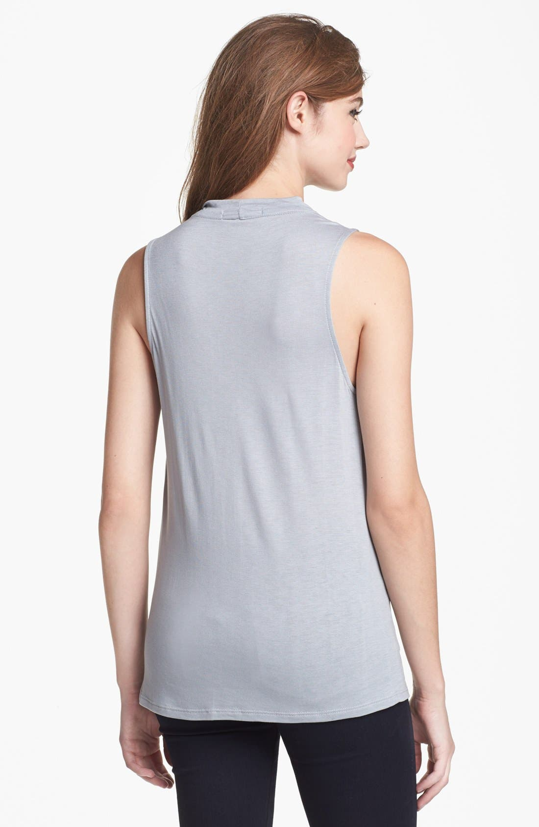 Alternate Image 2  - Olivia Moon Drape Neck Sleeveless Top