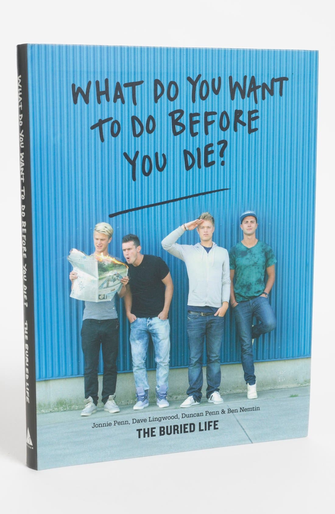 Main Image - 'What Do You Want to Do Before You Die?' Book