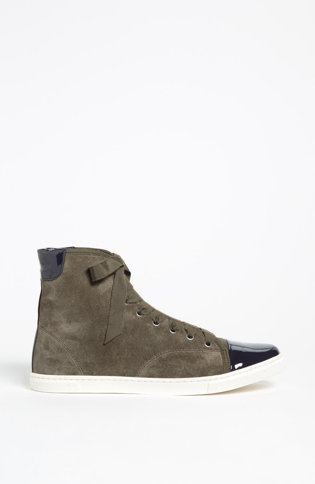 Alternate Image 4  - Lanvin High Top Sneaker