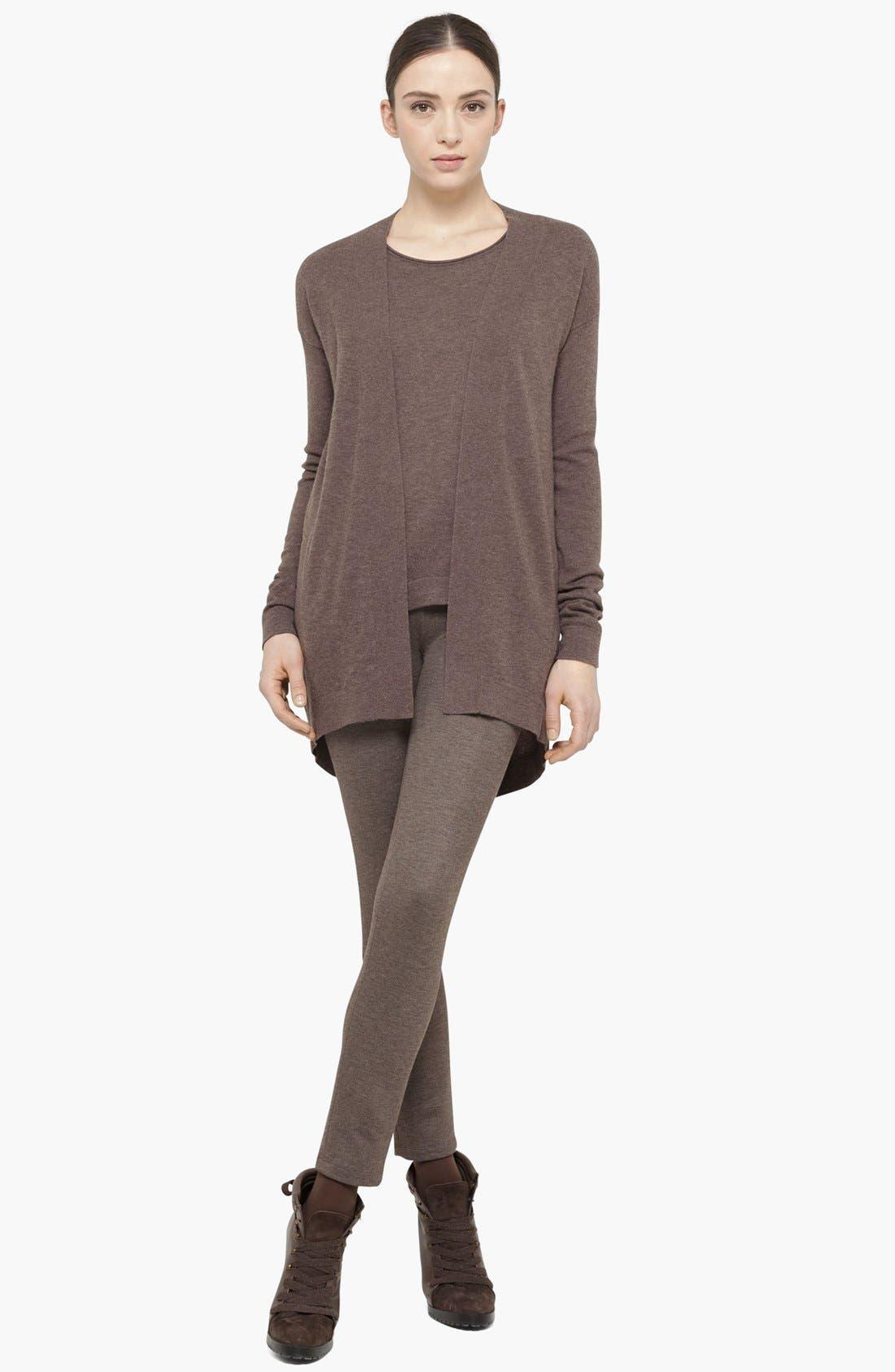 Alternate Image 2  - Akris punto Long Wool & Cashmere Cardigan