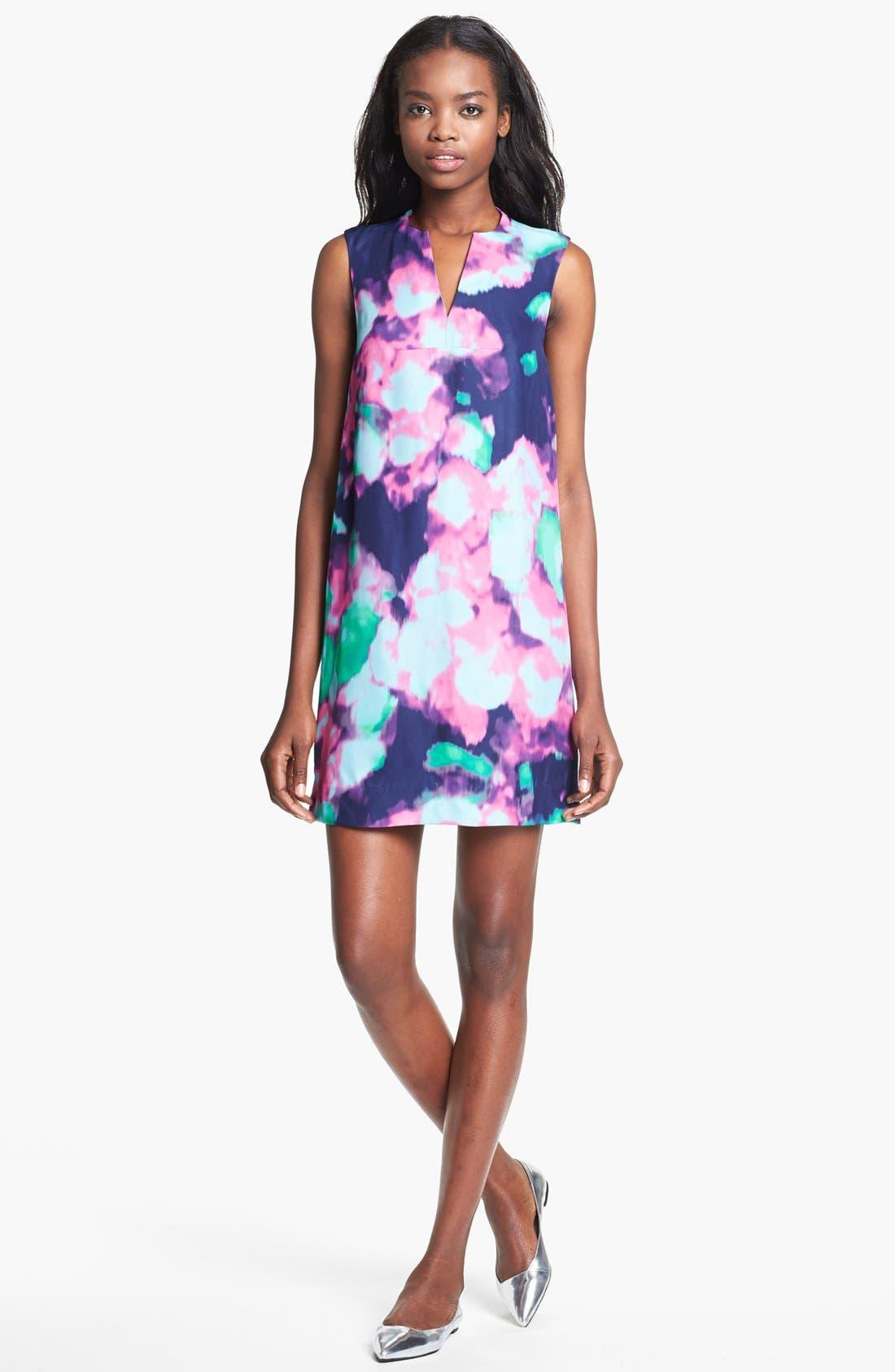 Main Image - kate spade new york 'keri' abstract floral print dress