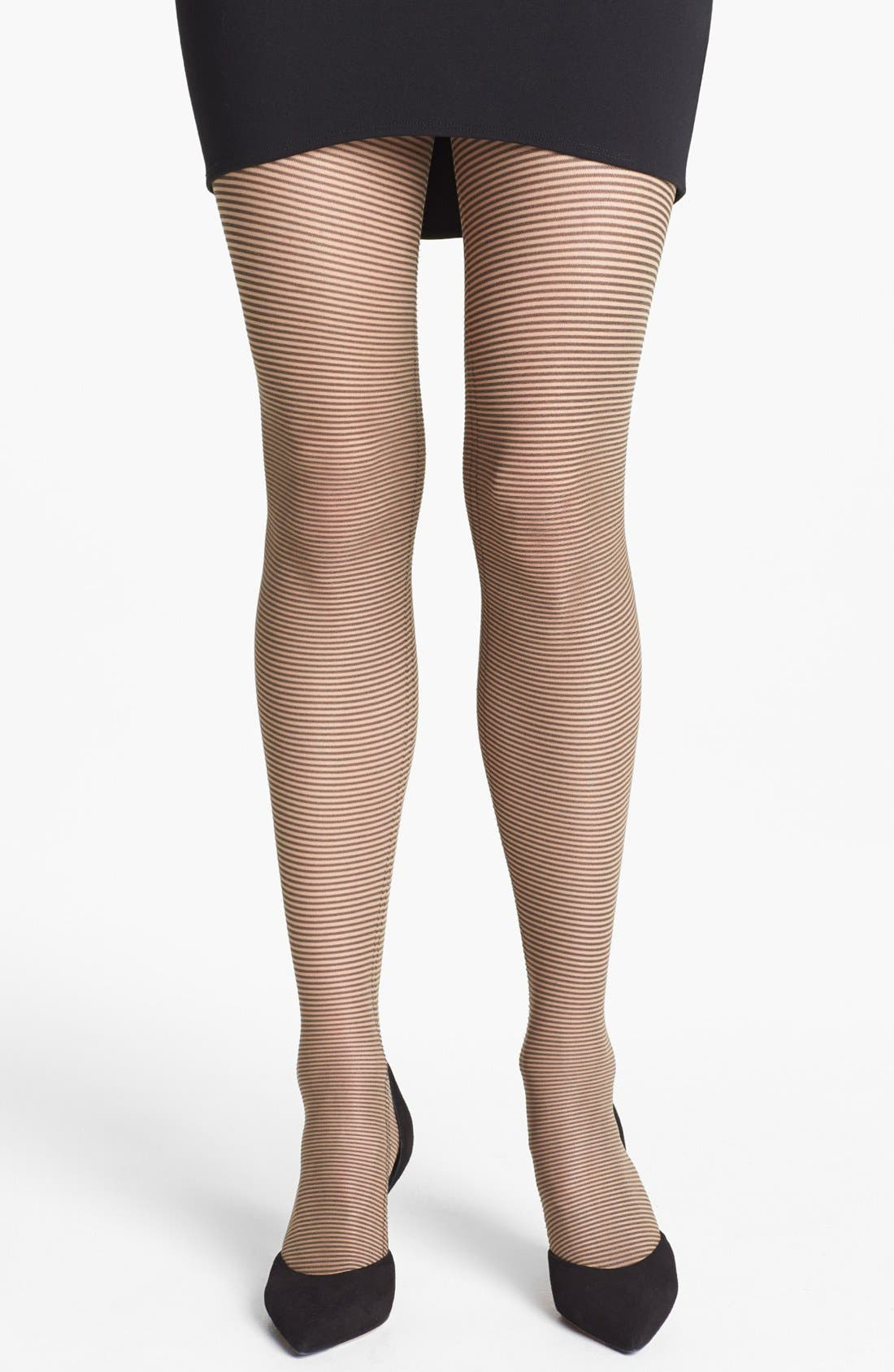 Alternate Image 1 Selected - Wolford 'Rayure' Tights