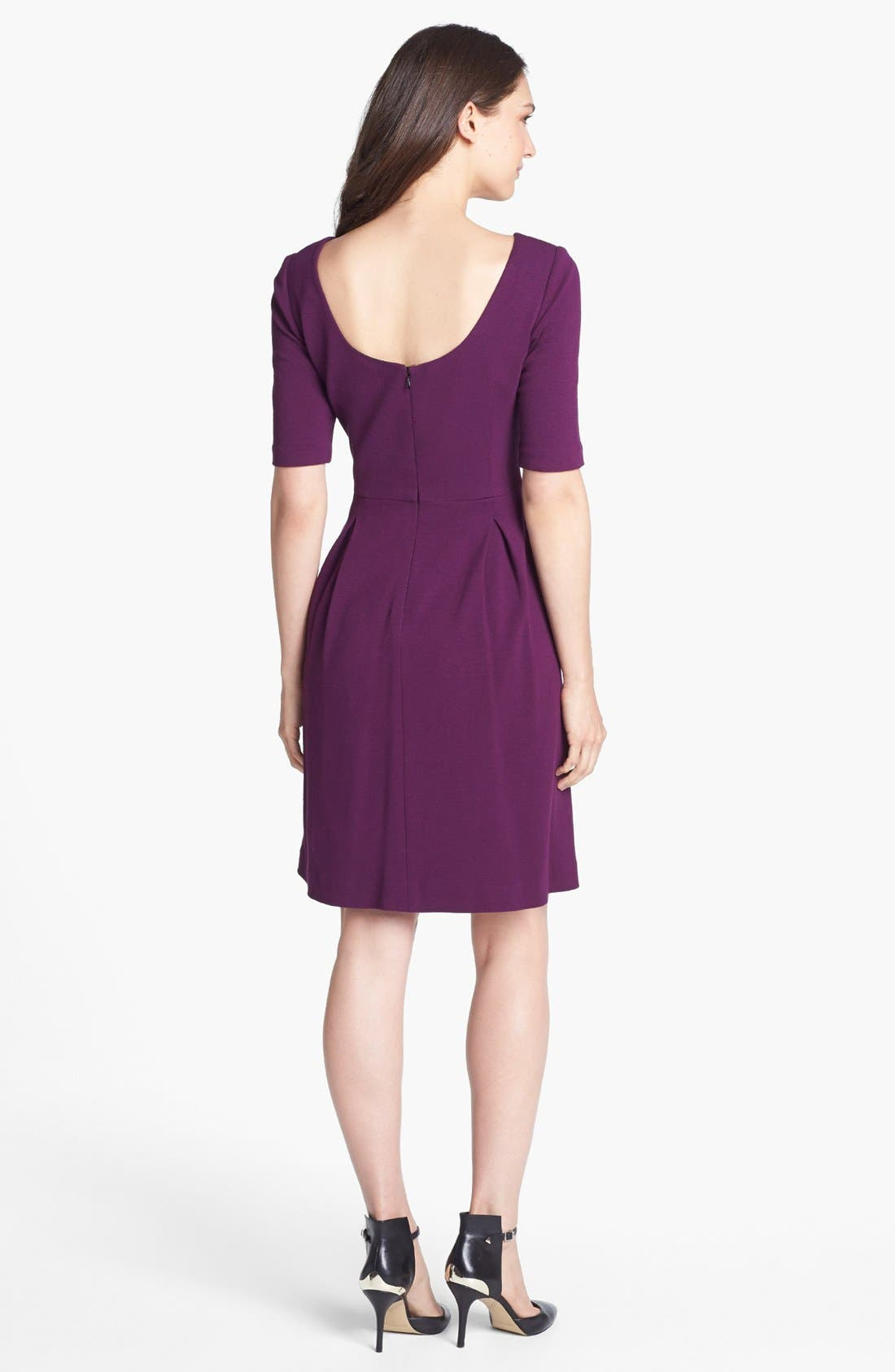 Alternate Image 2  - Trina Turk Ponte Knit A-Line Dress