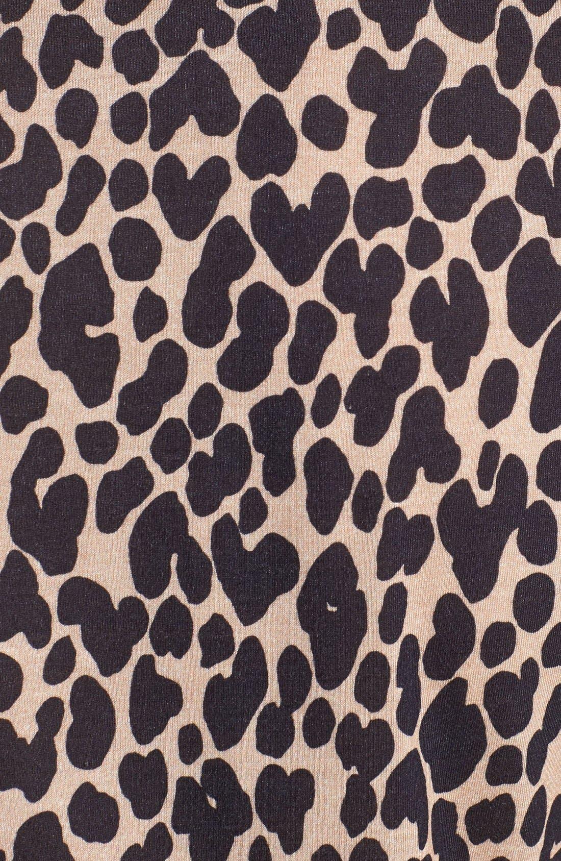 Alternate Image 3  - Burberry Prorsum Leopard Print T-Shirt