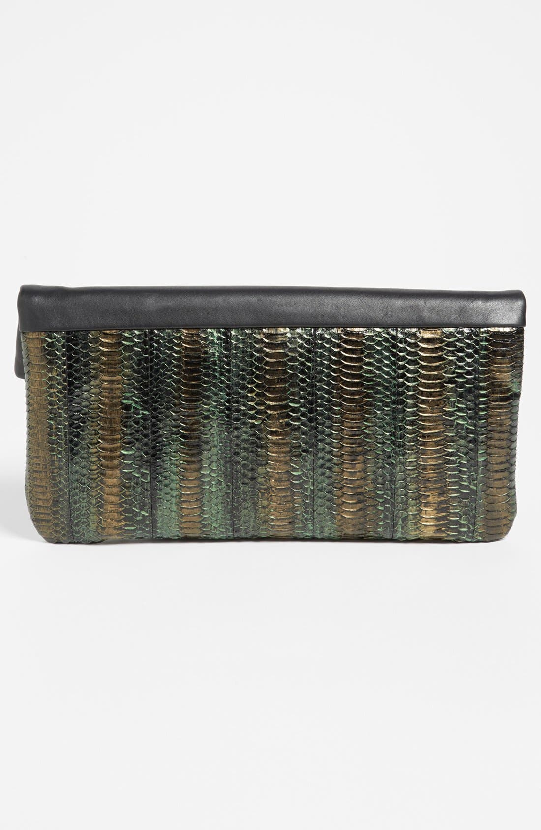 Alternate Image 4  - B Brian Atwood 'Robin' Leather Foldover Clutch