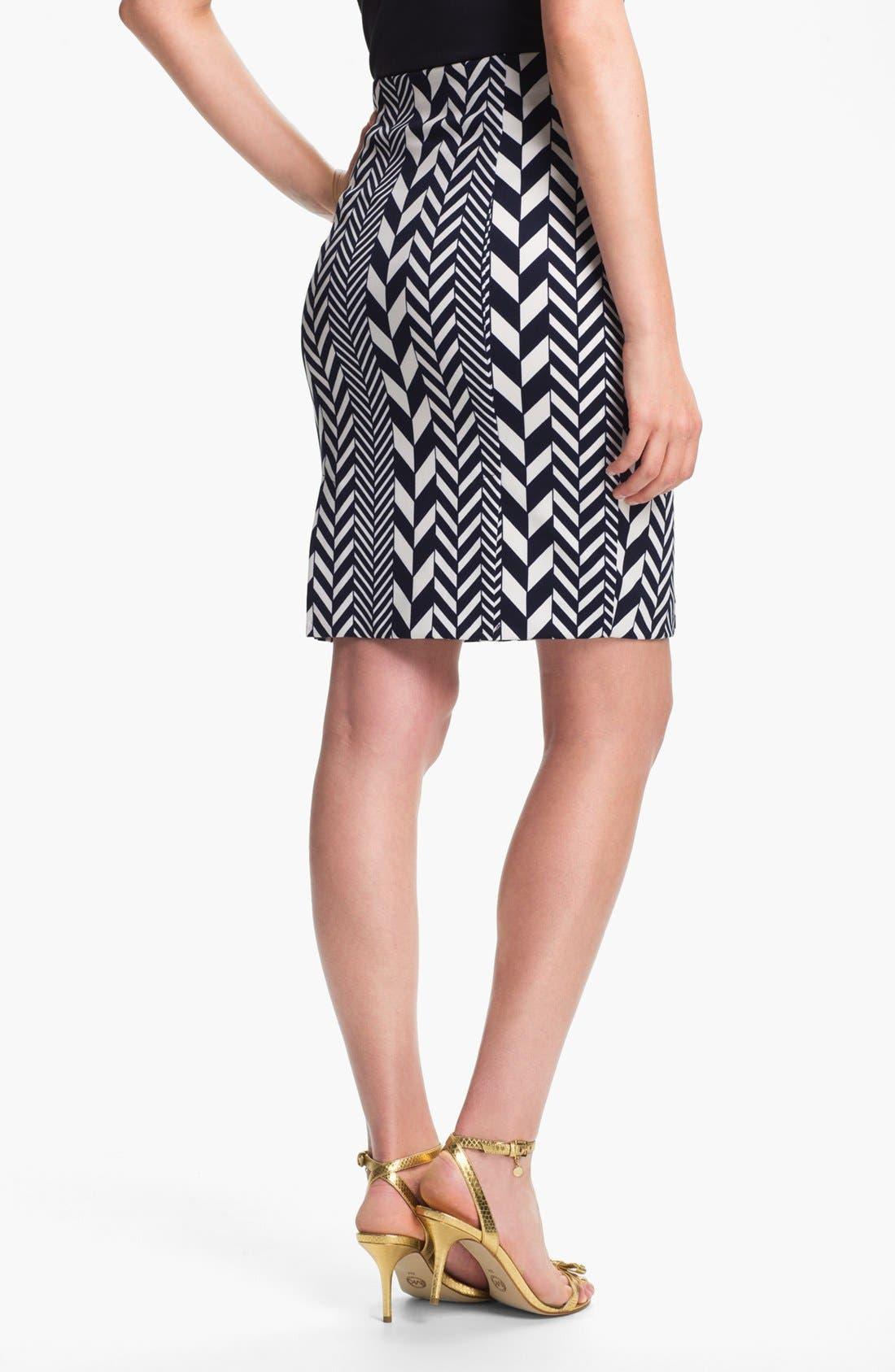 Alternate Image 3  - MICHAEL Michael Kors 'League Stripe' Pencil Skirt (Regular & Petite)