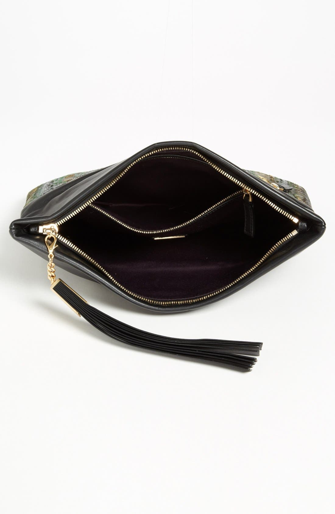Alternate Image 3  - B Brian Atwood 'Robin' Leather Foldover Clutch