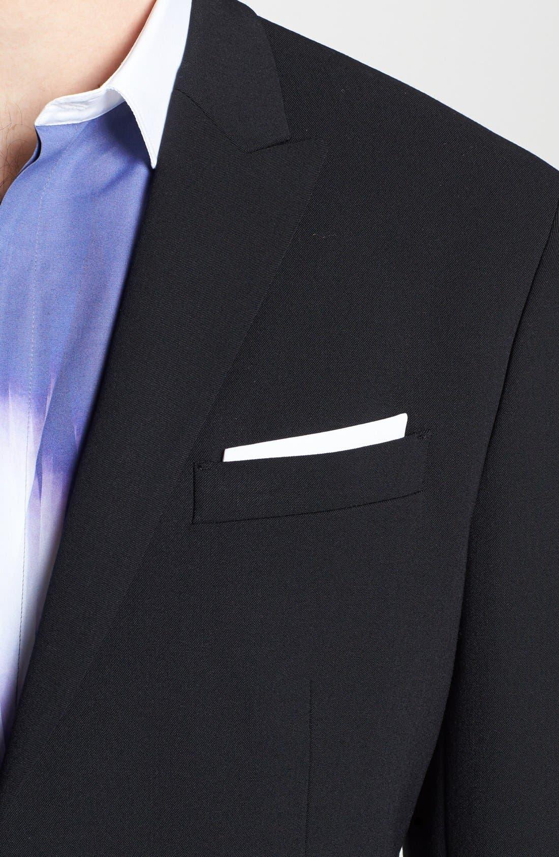Alternate Image 2  - Neil Barrett Stretch Gabardine Suit