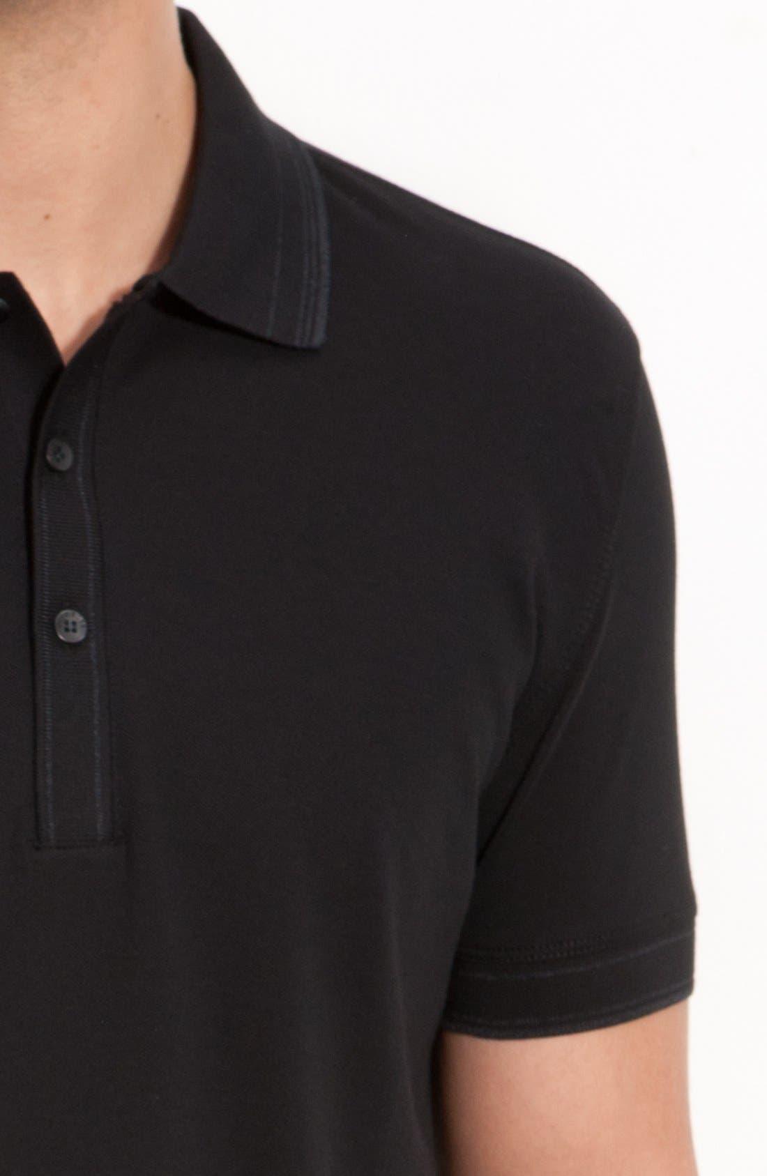 Alternate Image 3  - BOSS HUGO BOSS 'Firenze' Regular Fit Piqué Polo