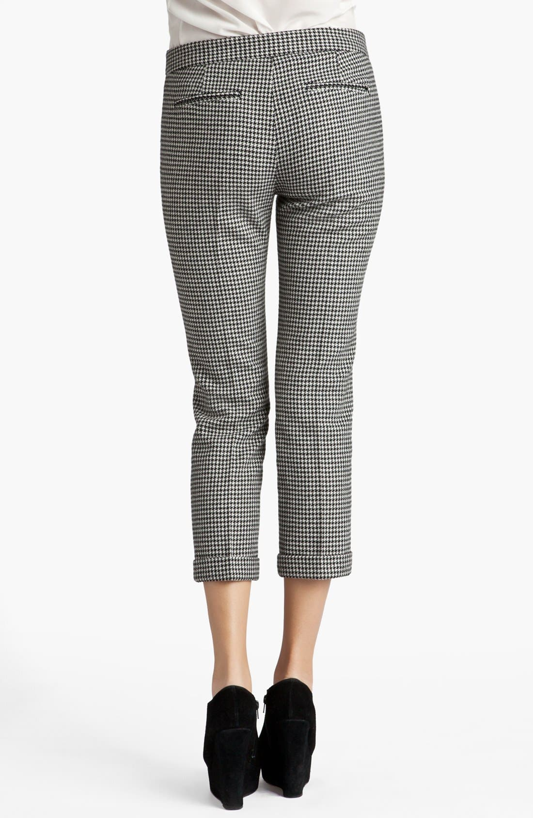 Alternate Image 2  - MSGM Houndstooth Crop Trousers
