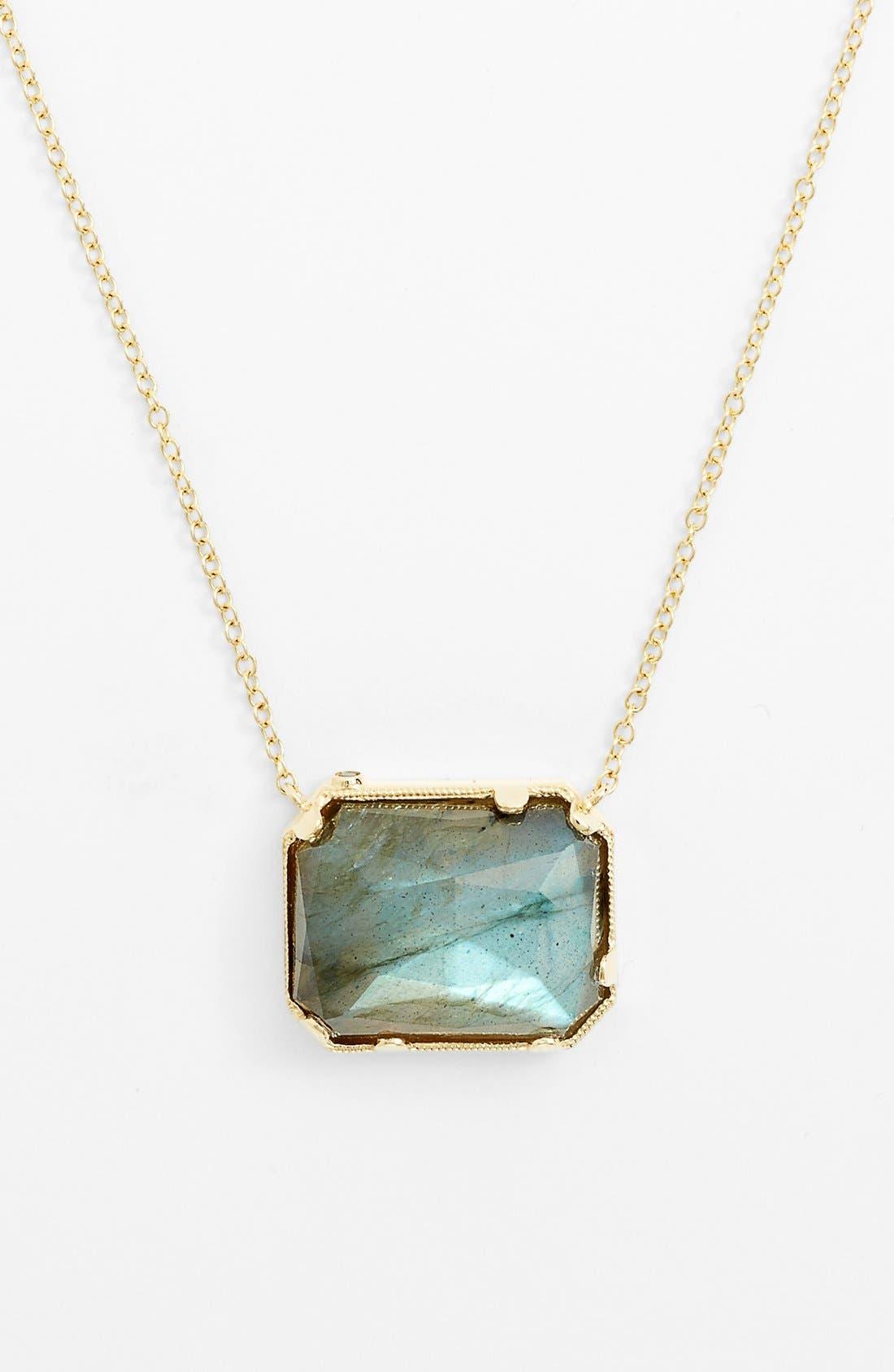 Alternate Image 1 Selected - Whitney Stern Stone Pendant Necklace