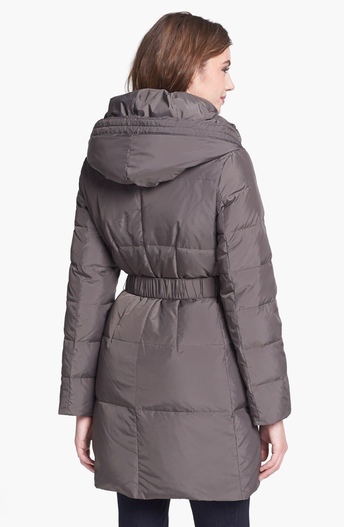 Alternate Image 2  - T Tahari 'Caroline' Pillow Hood Down Coat (Regular & Petite)(Nordstrom Exclusive)