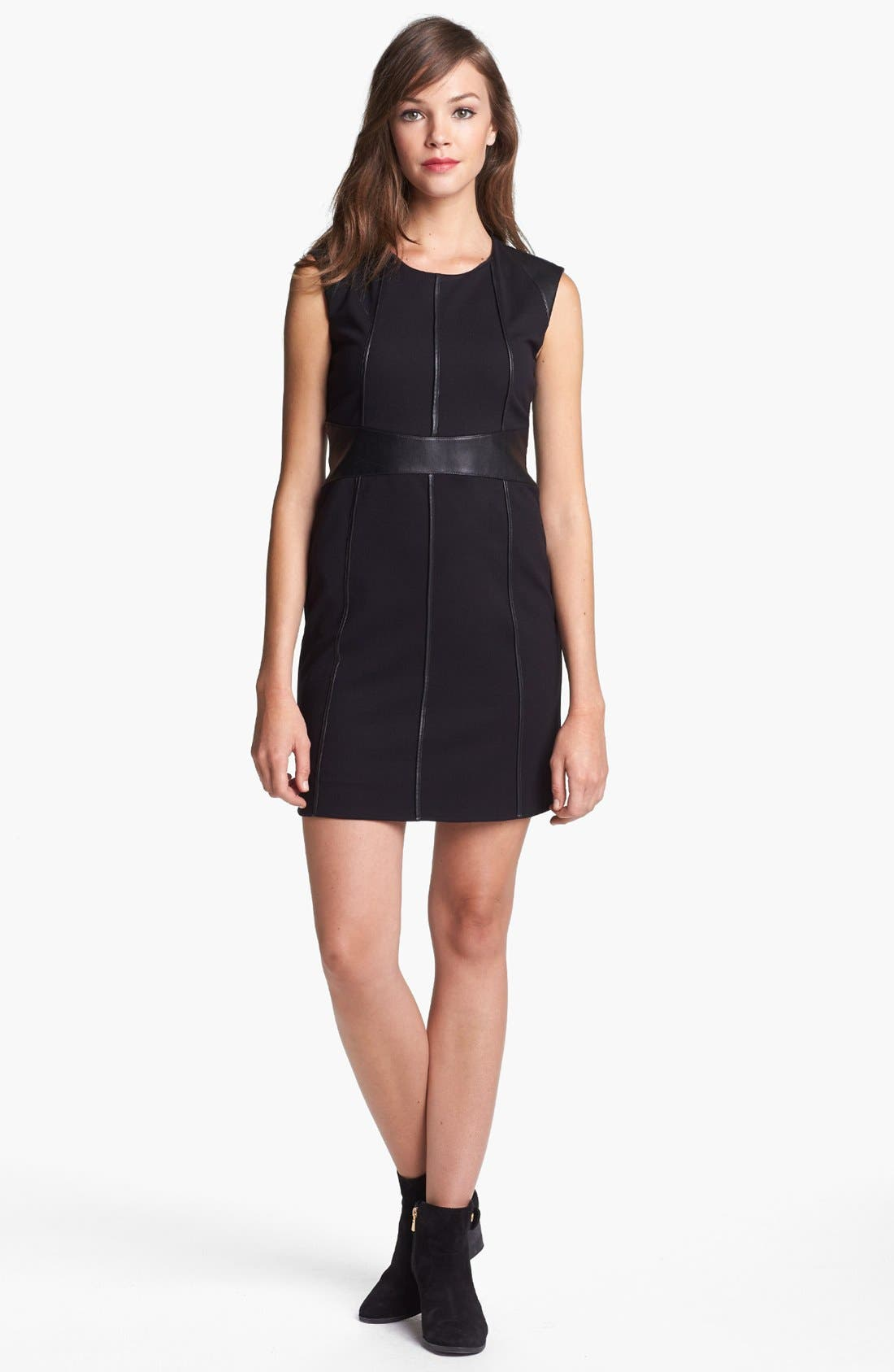 Alternate Image 1 Selected - B44 Dressed by Bailey 44 'Caged Bird' Cap Sleeve Dress