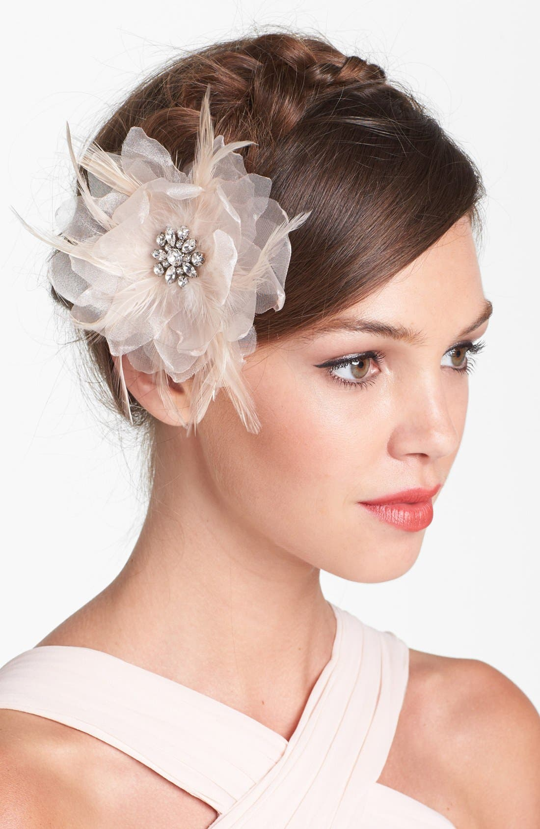 Alternate Image 1 Selected - Serephine 'Renee' Bridal Hair Flower
