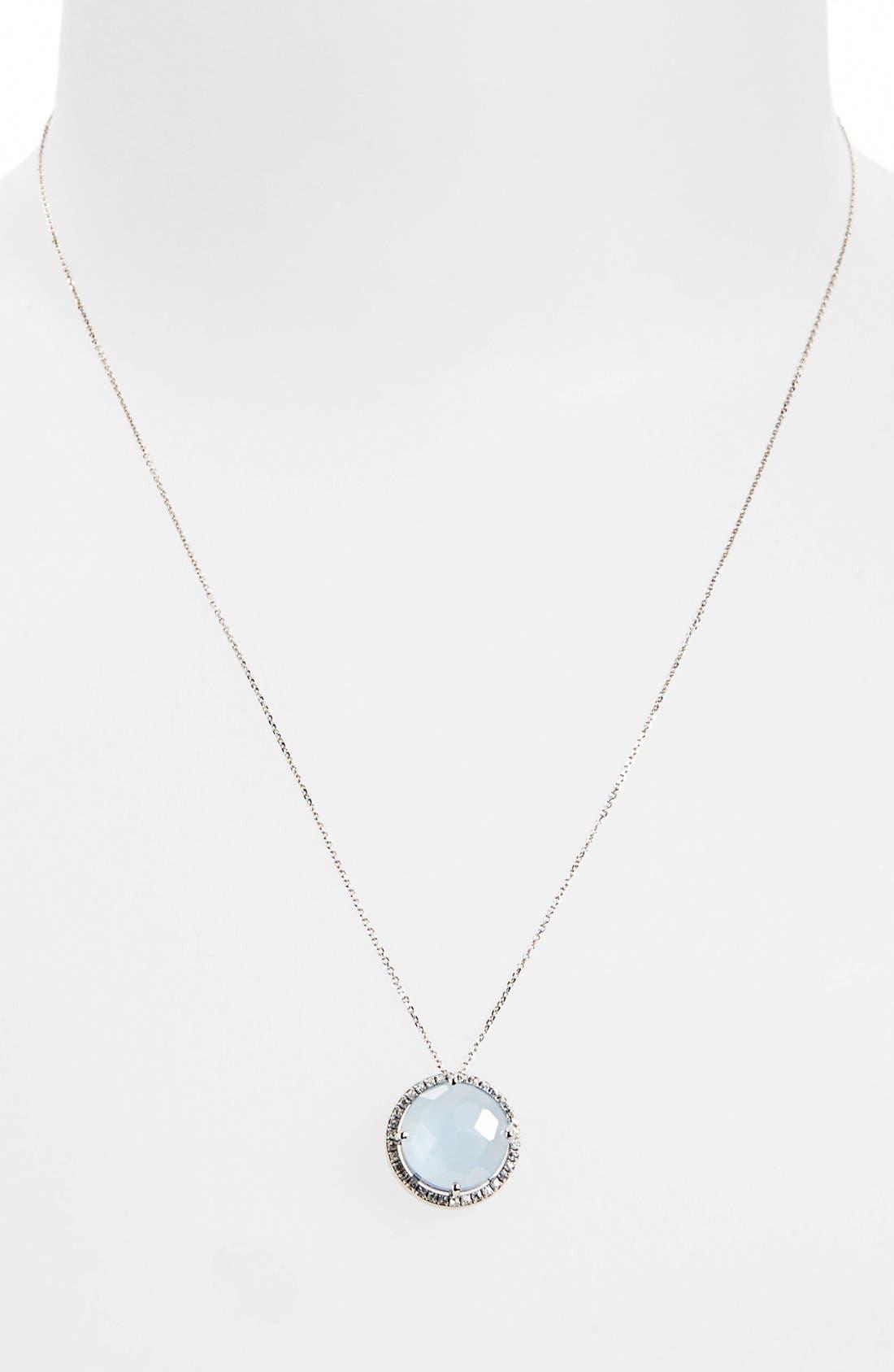 Alternate Image 2  - KALAN by Suzanne Kalan Stone & Sapphire Pendant Necklace
