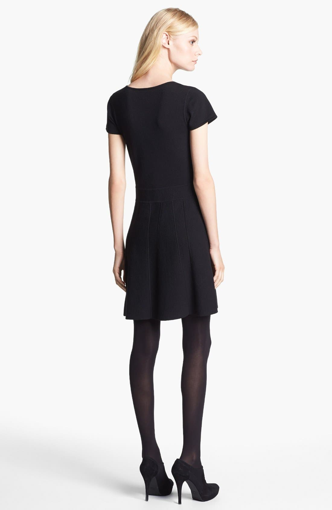 Alternate Image 2  - Theory 'Anderz' Wool Blend A-Line Dress