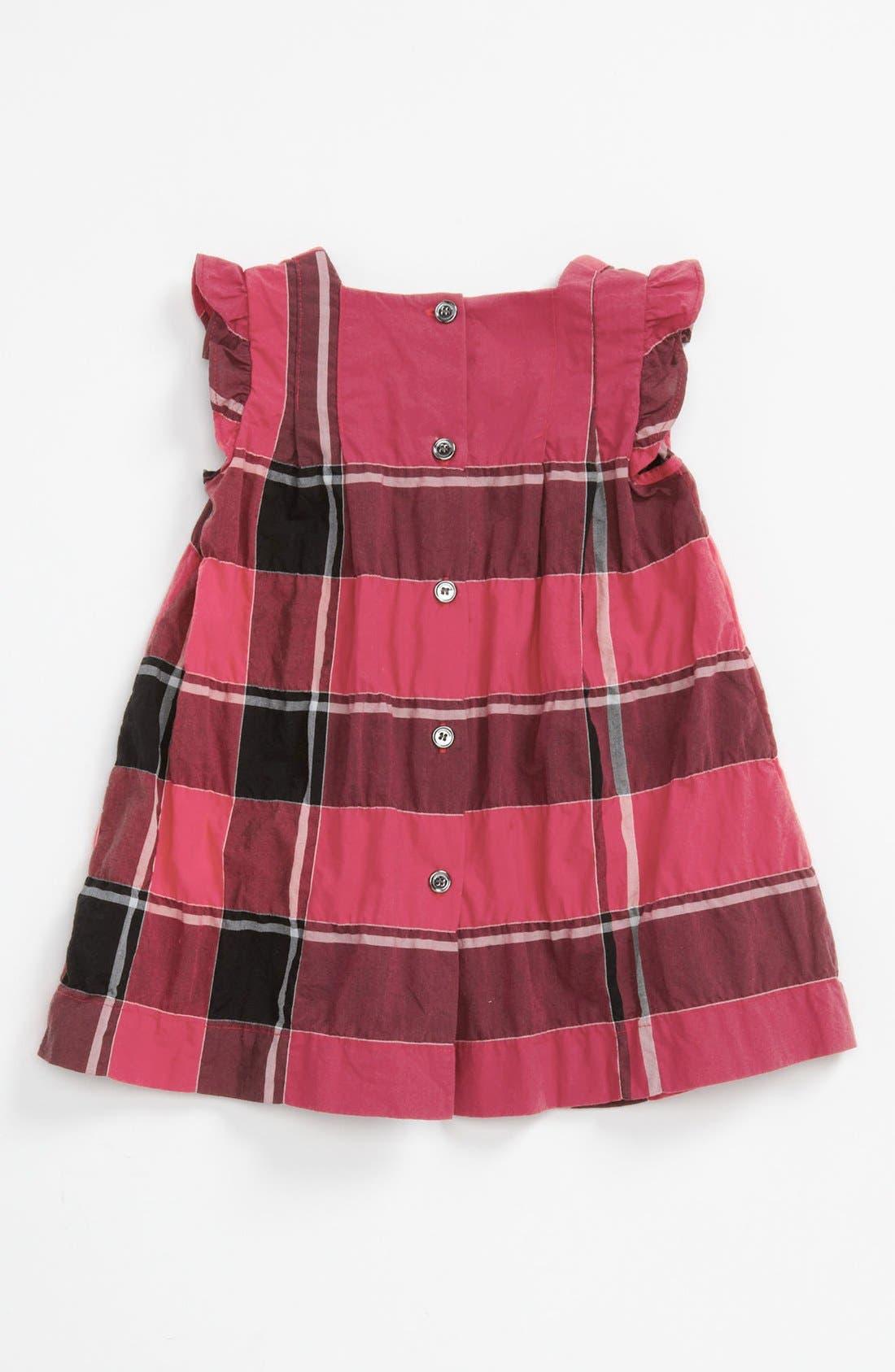 Alternate Image 2  - Burberry 'Desire' Dress (Baby Girls)