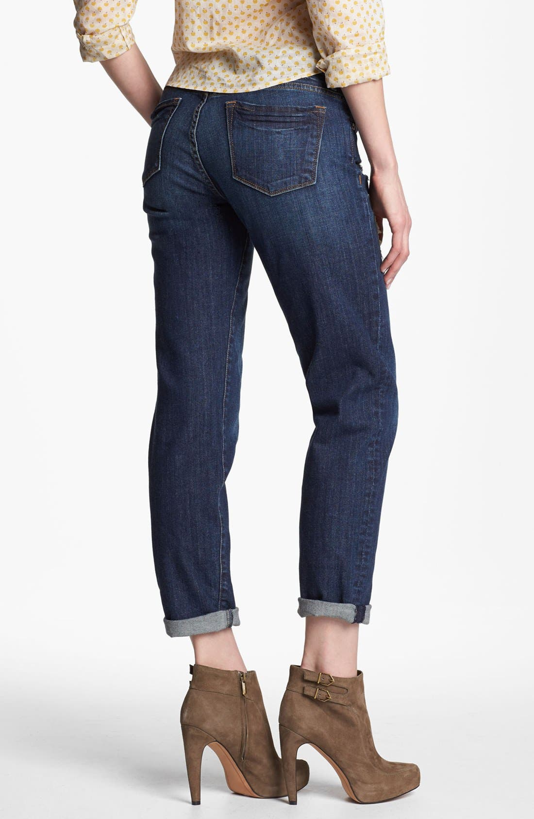 Alternate Image 2  - KUT from the Kloth 'Catherine' Slim Boyfriend Jeans (Casual Dark Stone)